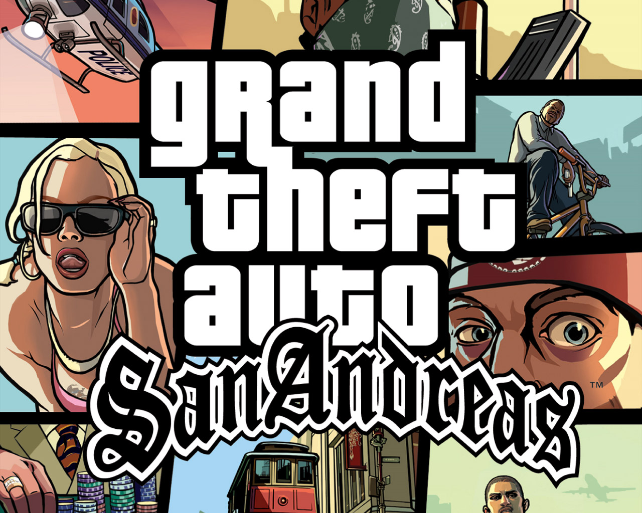 Screenshot Thumbnail / Media File 2 for Grand Theft Auto - San Andreas (USA)