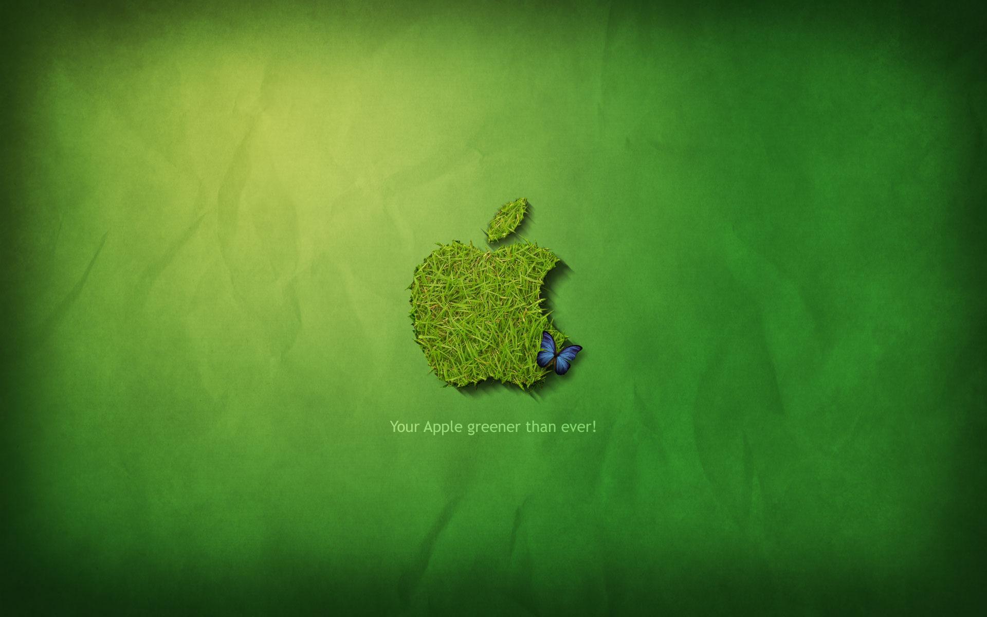 Grass Apple Logo Background 18852 1920x1200 px