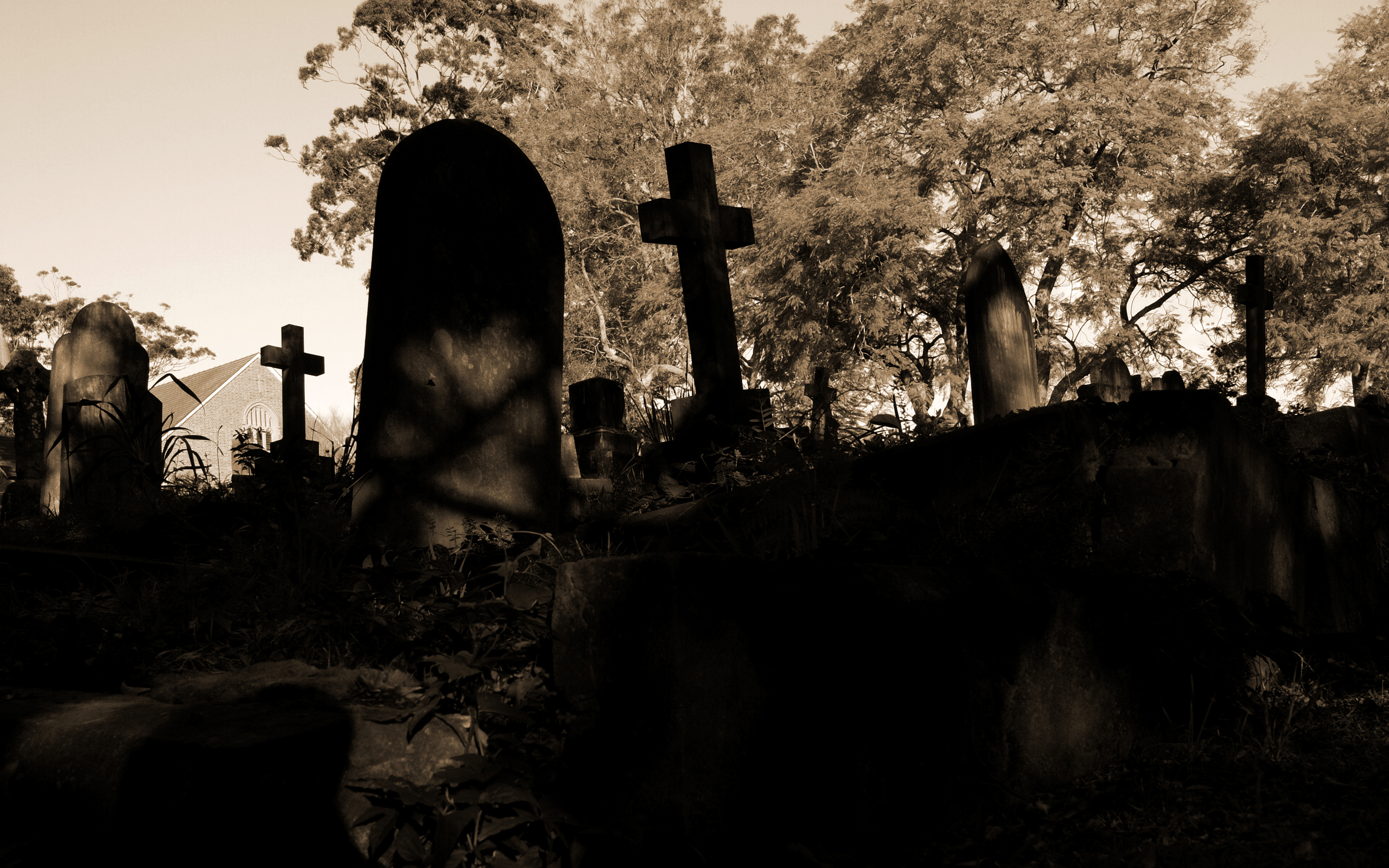Graveyard Wallpaper