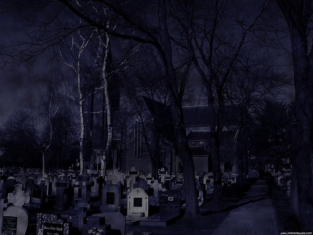 Graveyard Wallpaper HD