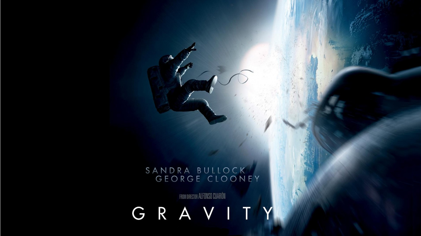 HD Wallpaper | Background ID:424552. 1366x768 Movie Gravity