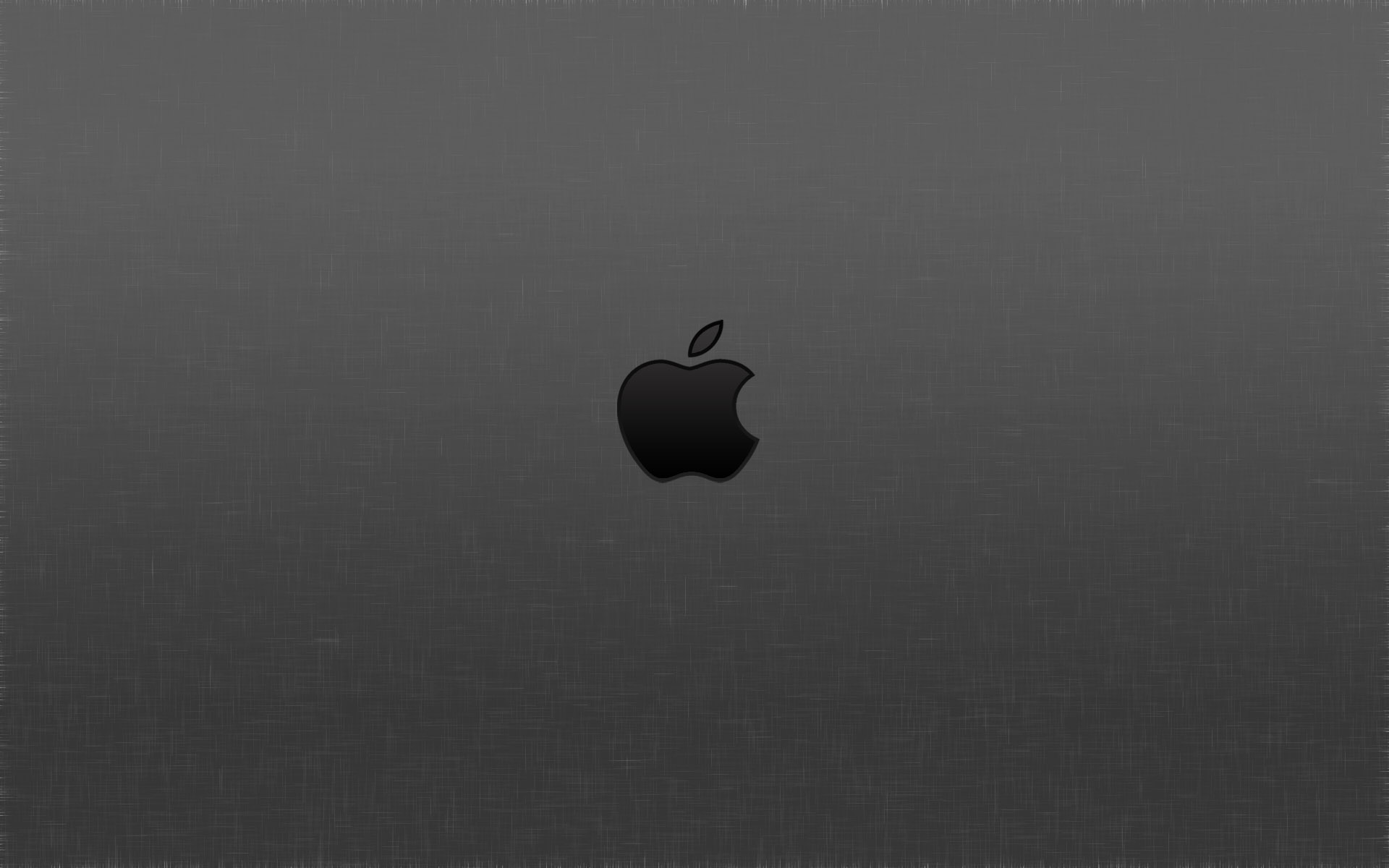 Gray Apple Logo Wallpaper