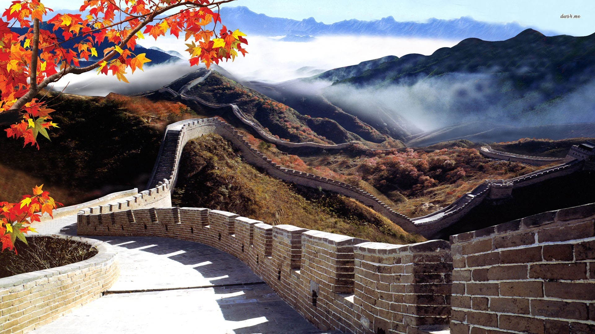 ... Great Wall of China wallpaper 1920x1080 ...