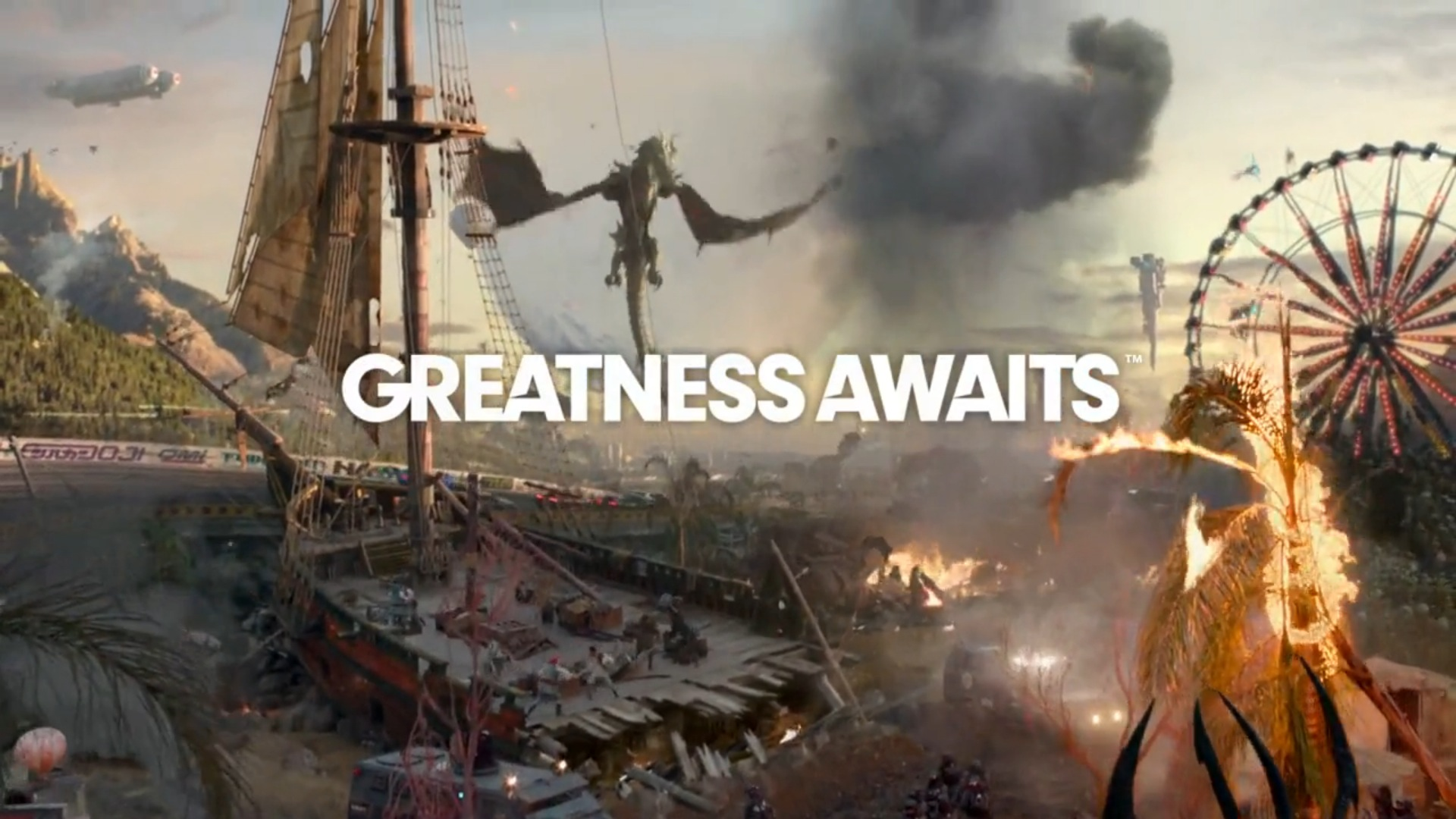 Greatness Awaits Wallpaper