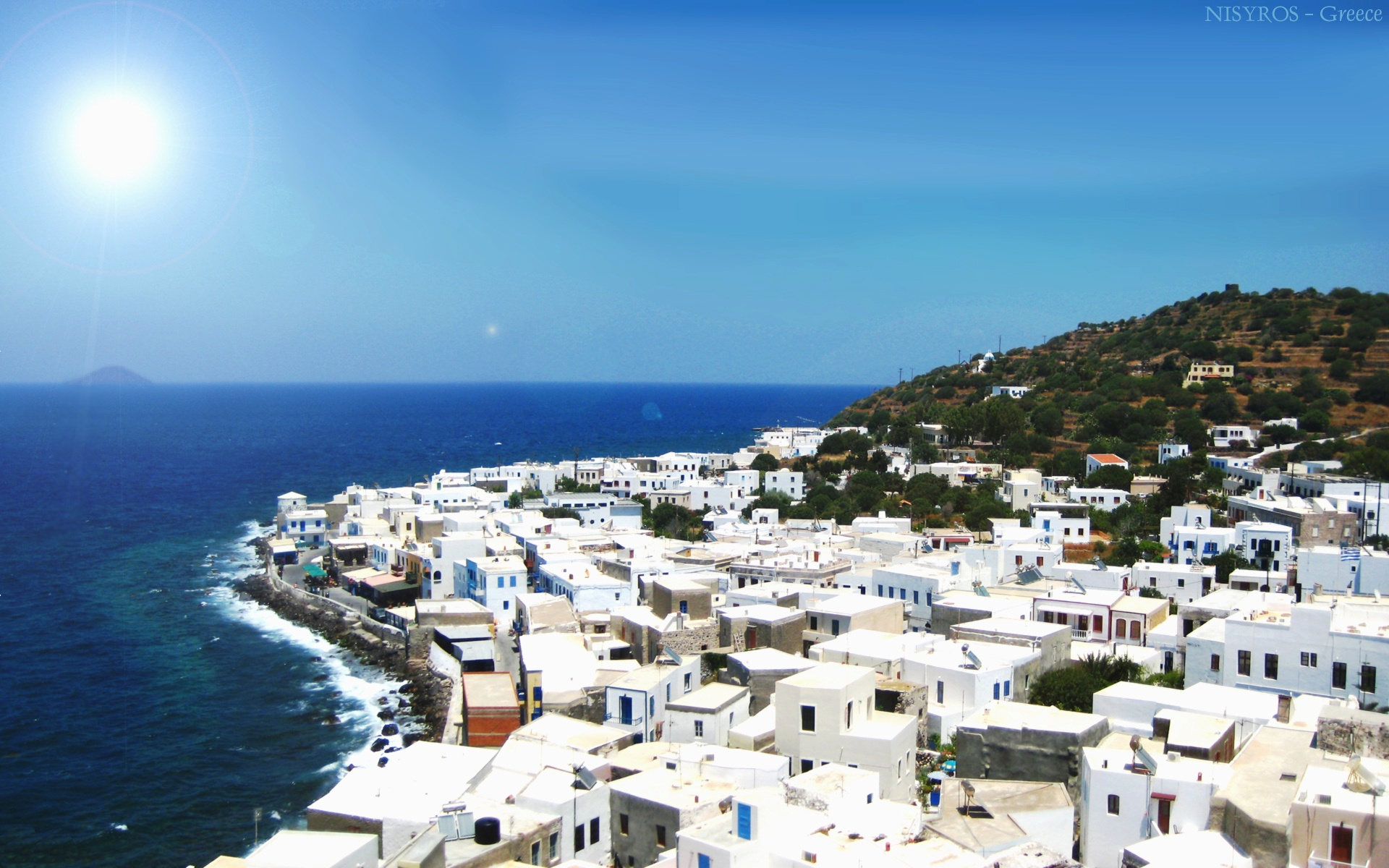 The Dodecanese island of Nysiros