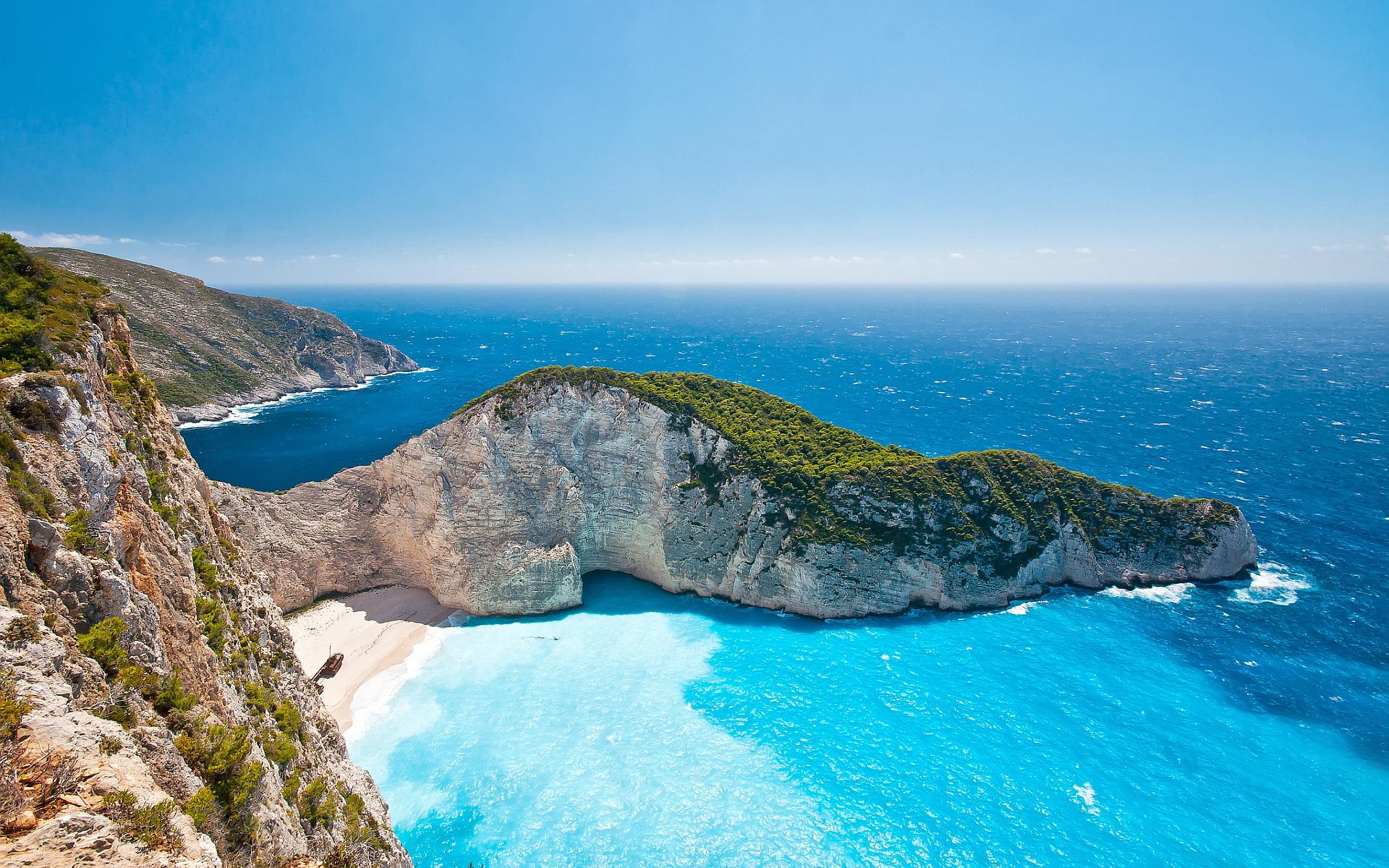 Greece beach zakynthos