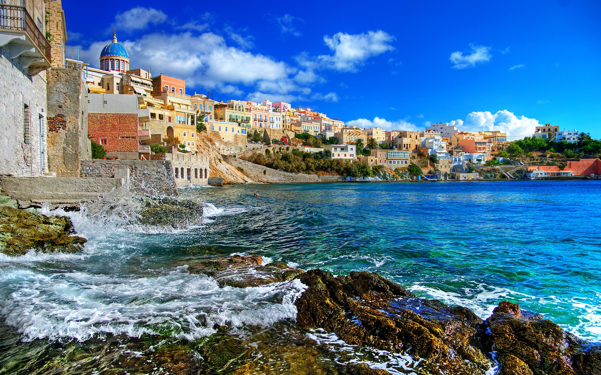Greece Syros Island