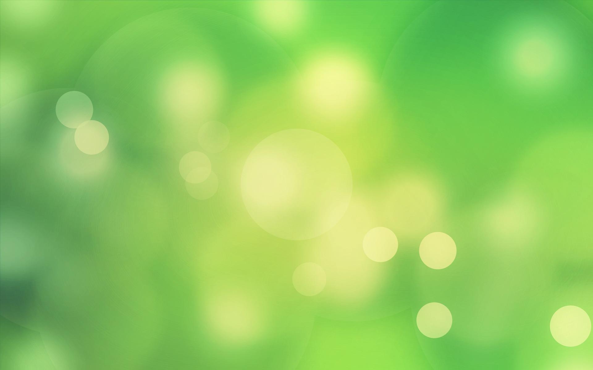Green Abstract Bokeh
