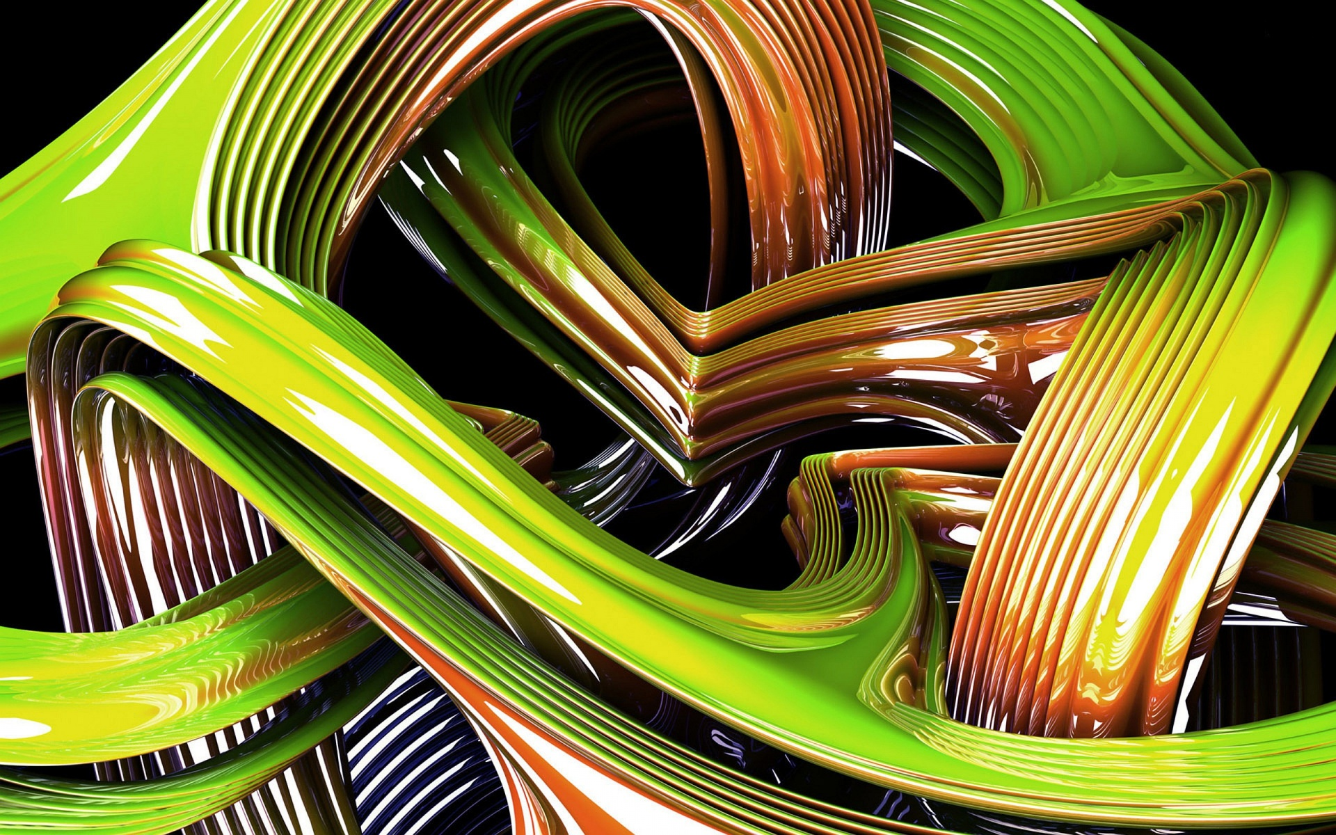 Green Creation wallpaper