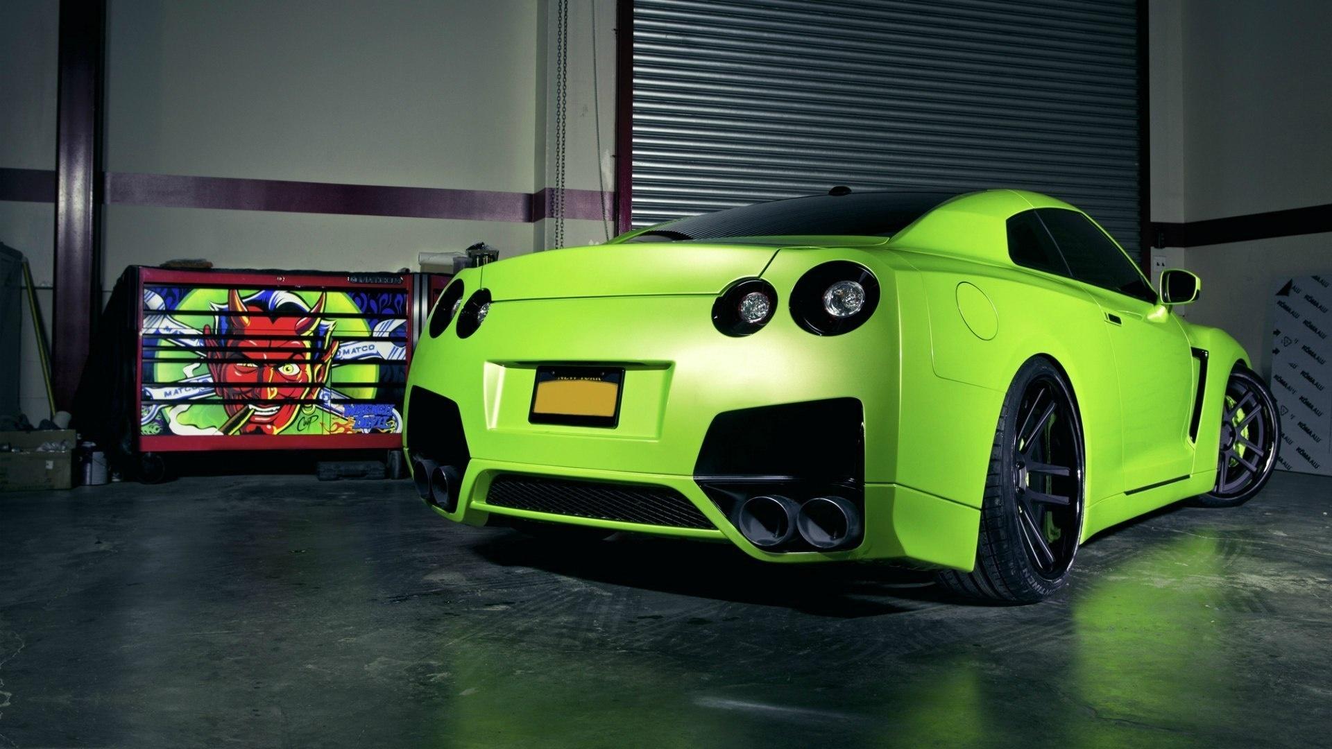 Green GTR