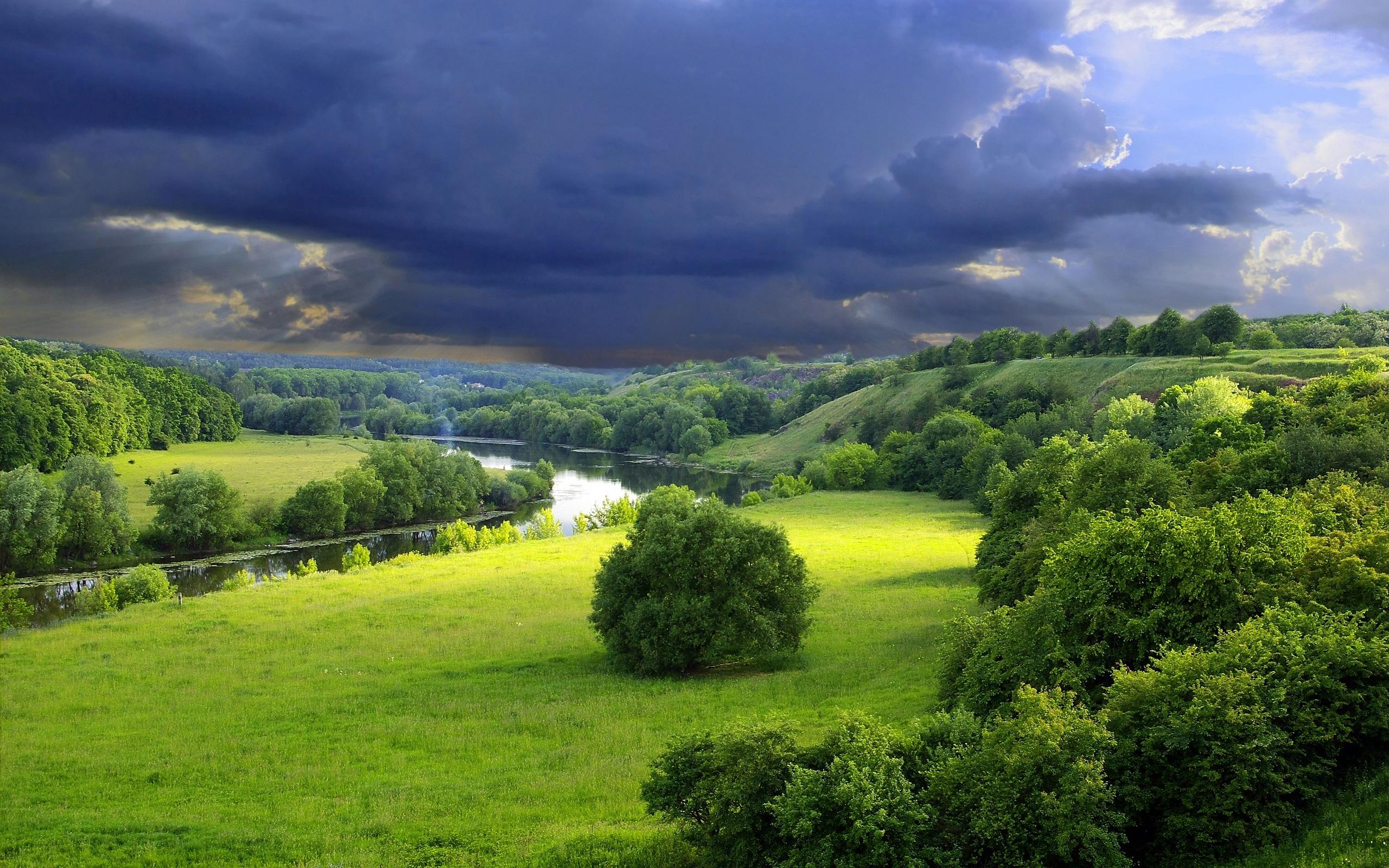 Green Landscape wallpa...