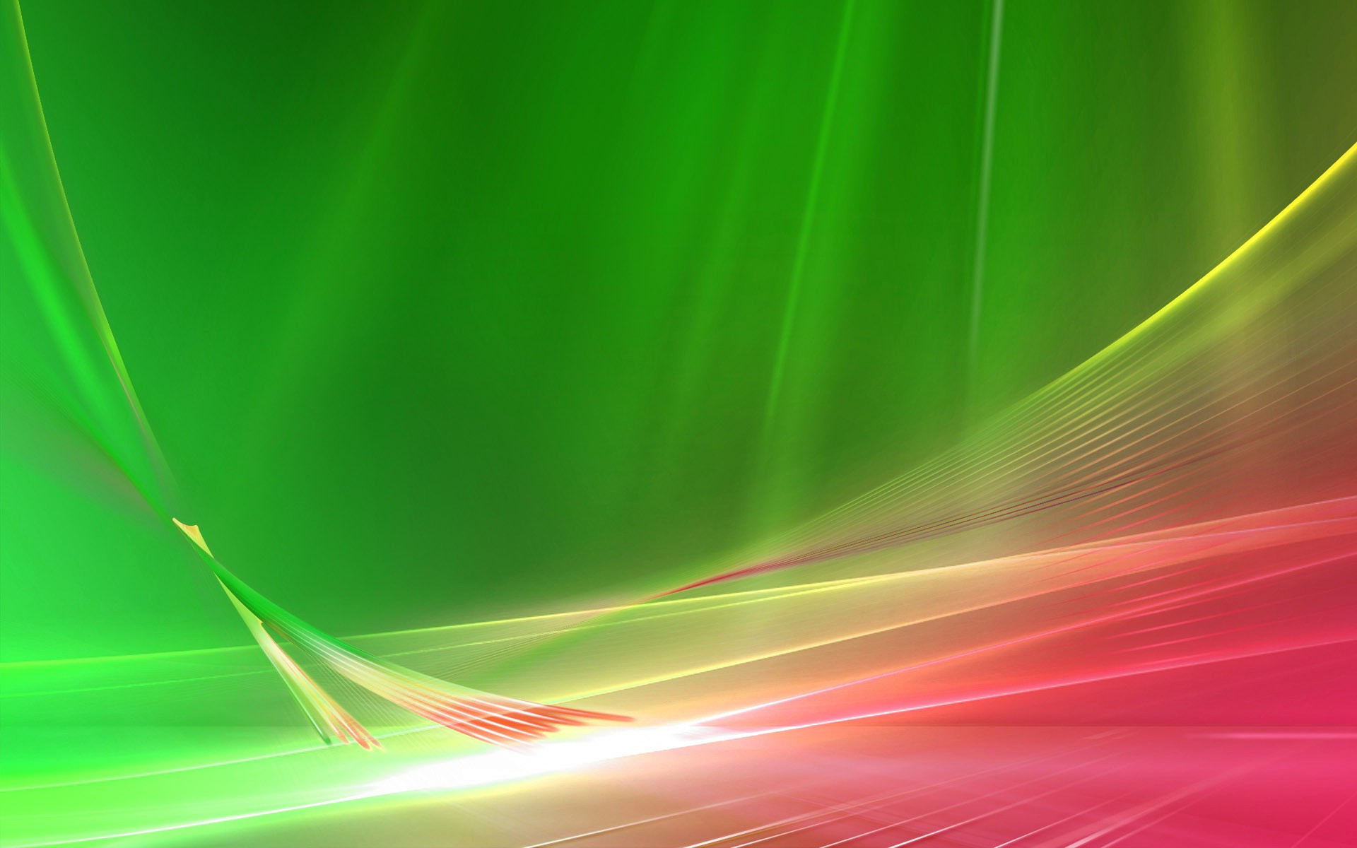 Download Green and pink curves 1920x1200 Wallpaper