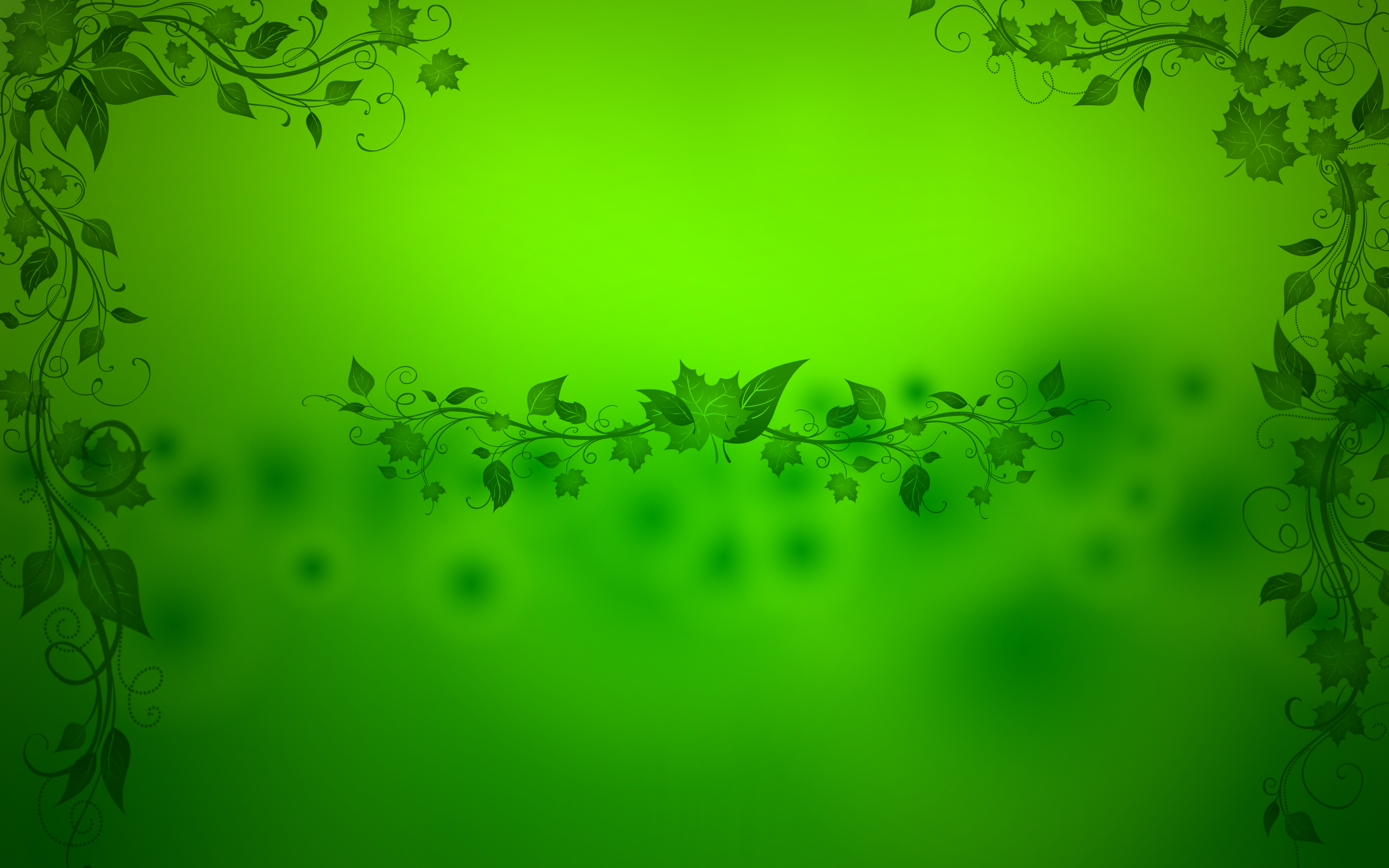 green wallpaper
