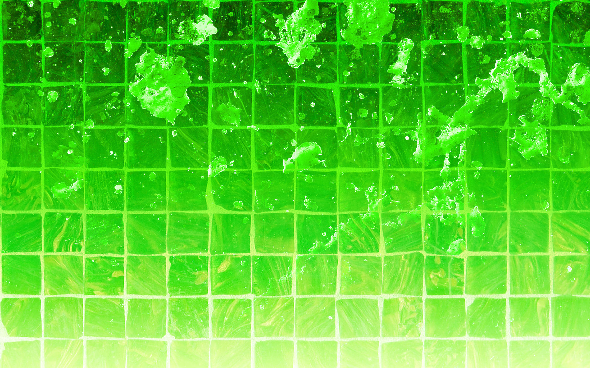 green wallpapers Green Drops