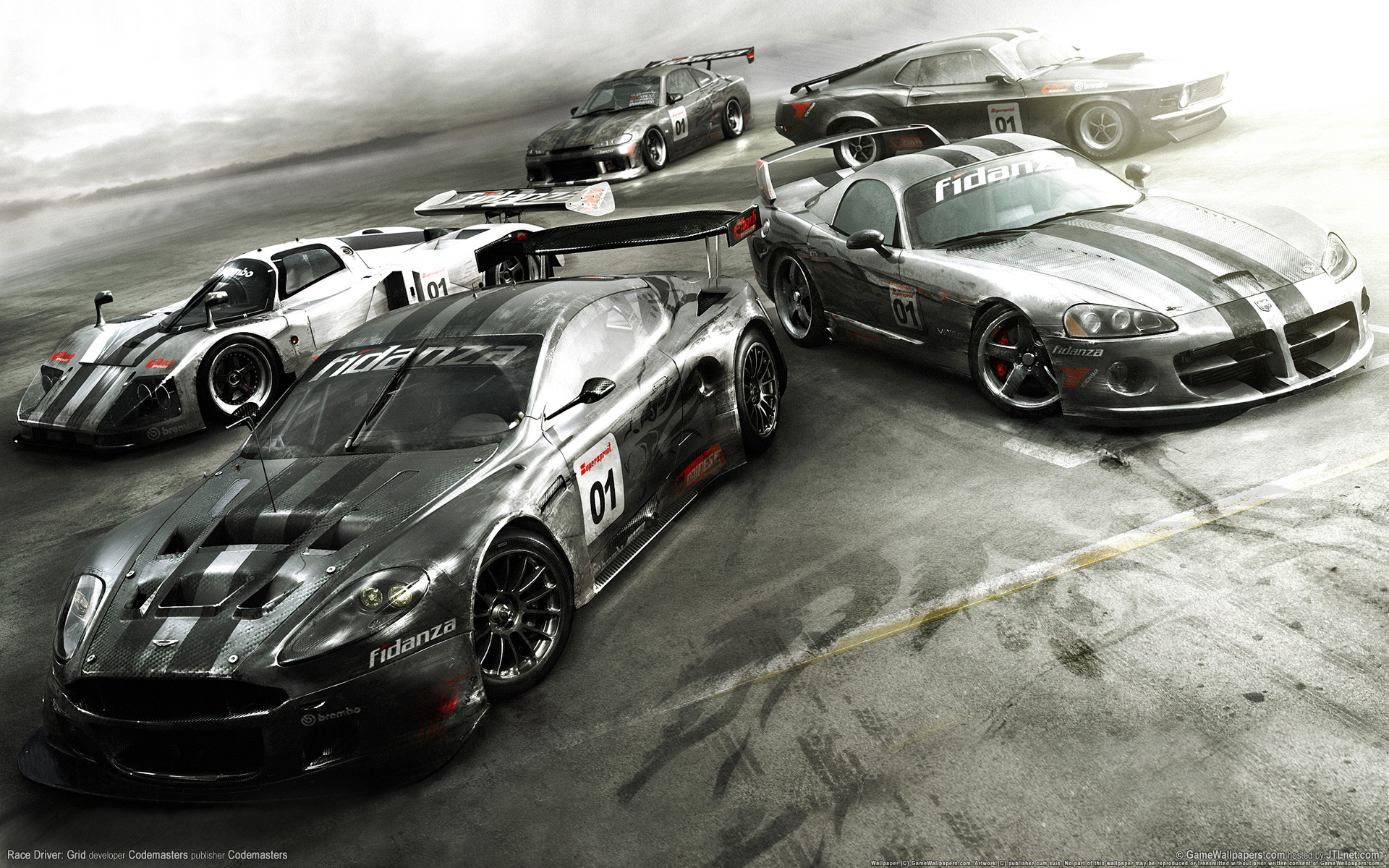 Tremendous Grid Racing Games Hd Car Wallpaper