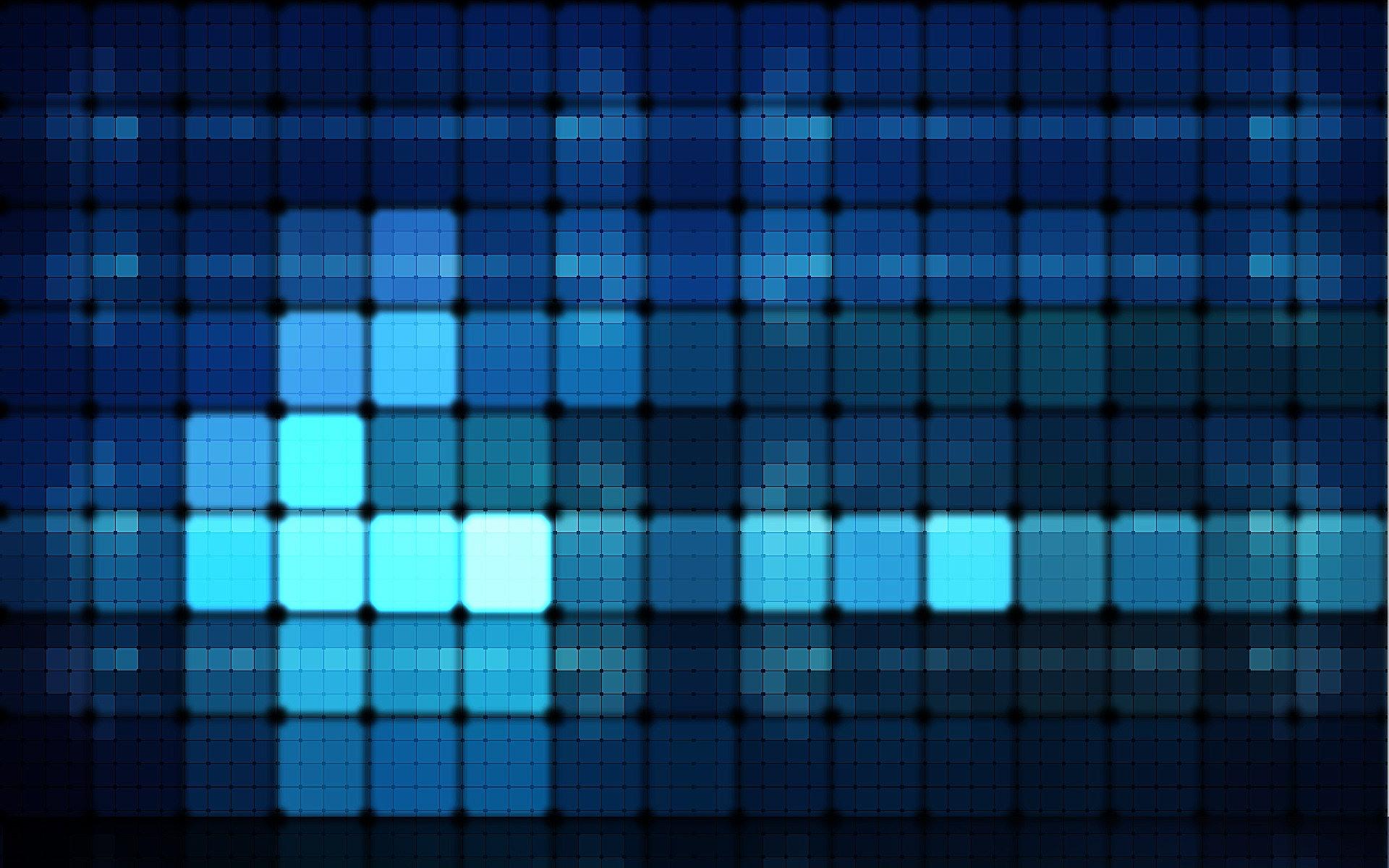 Glowing Grid Wallpaper