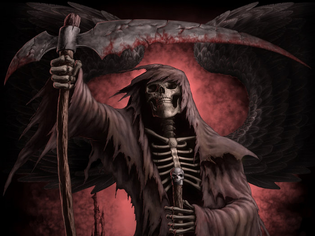 HD Wallpaper | Background ID:185826. 1280x960 Dark Grim Reaper