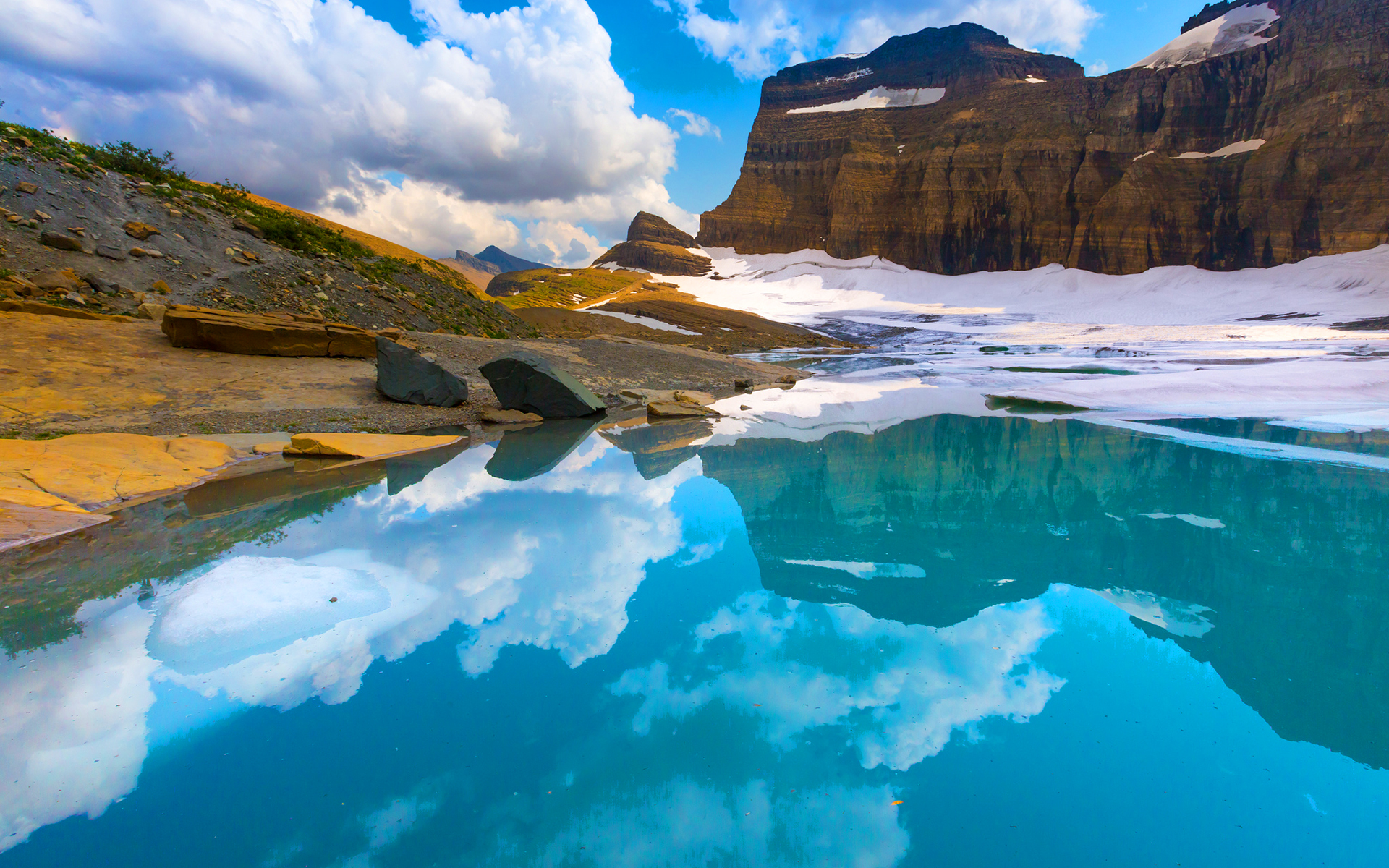 Grinnell glacier national park