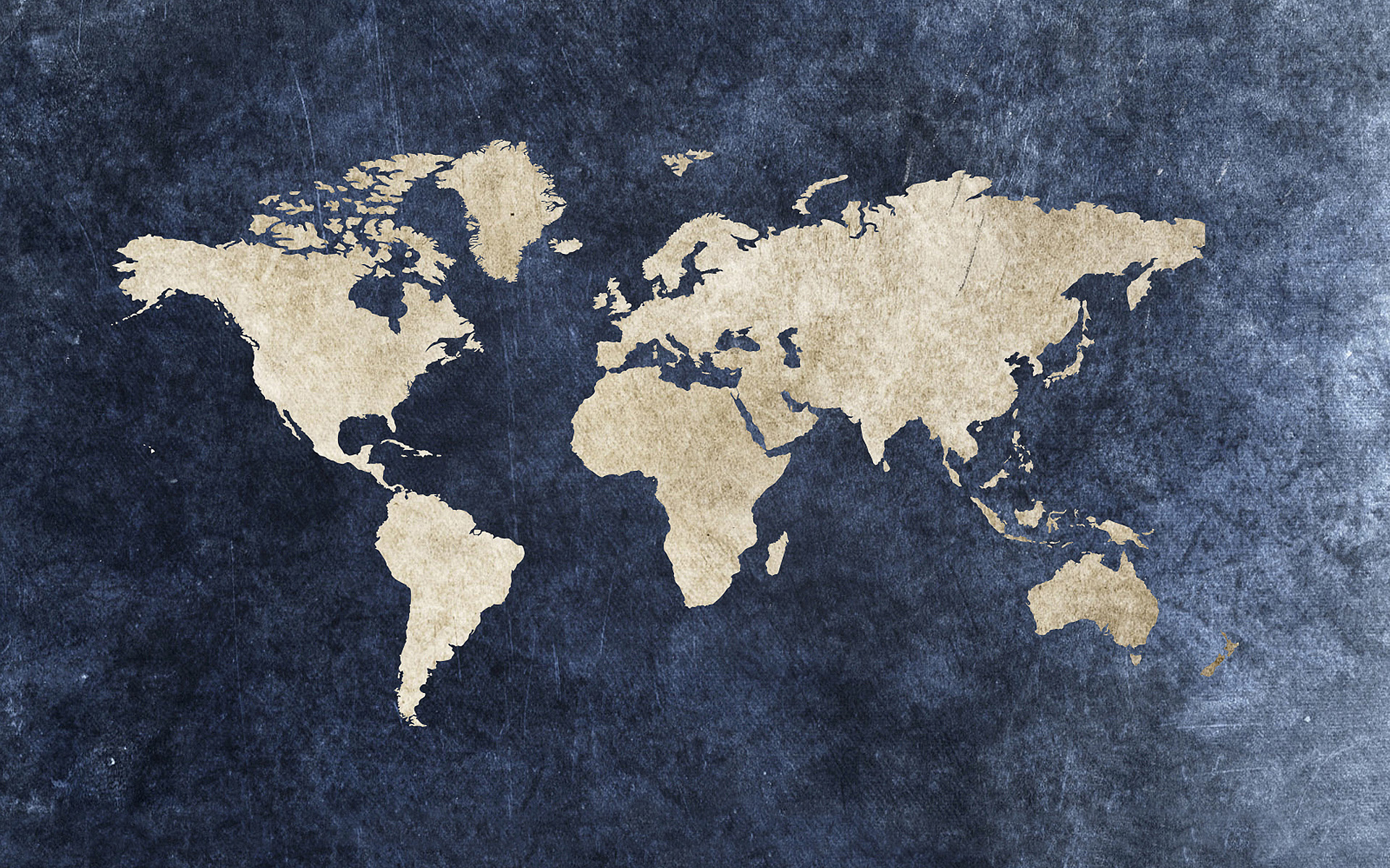 Grunge World Map Wallpaper 1920x1200 10629