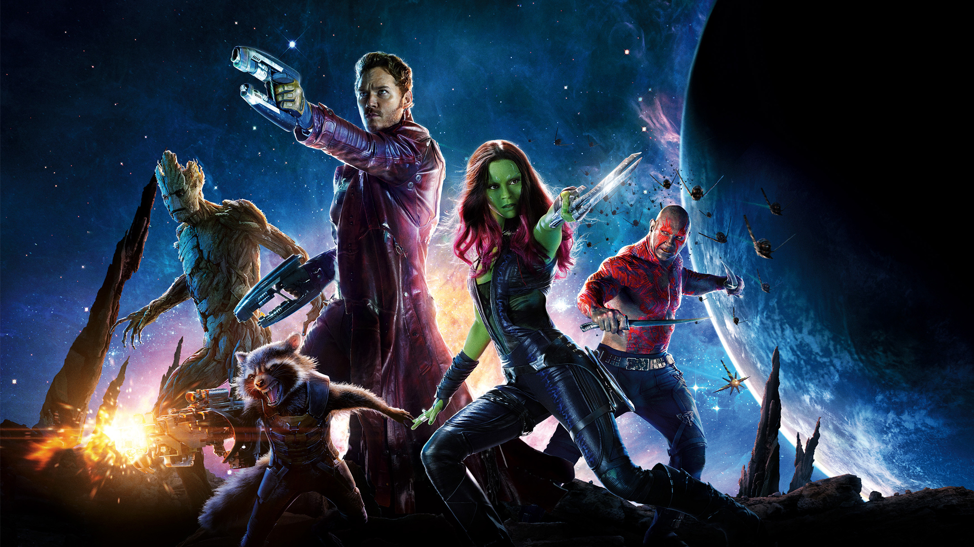 Download Full HD Wallpapers absolutely free for your pc desktop, laptop and mobile devices. Guardians of the Galaxy Movie Wallpapers