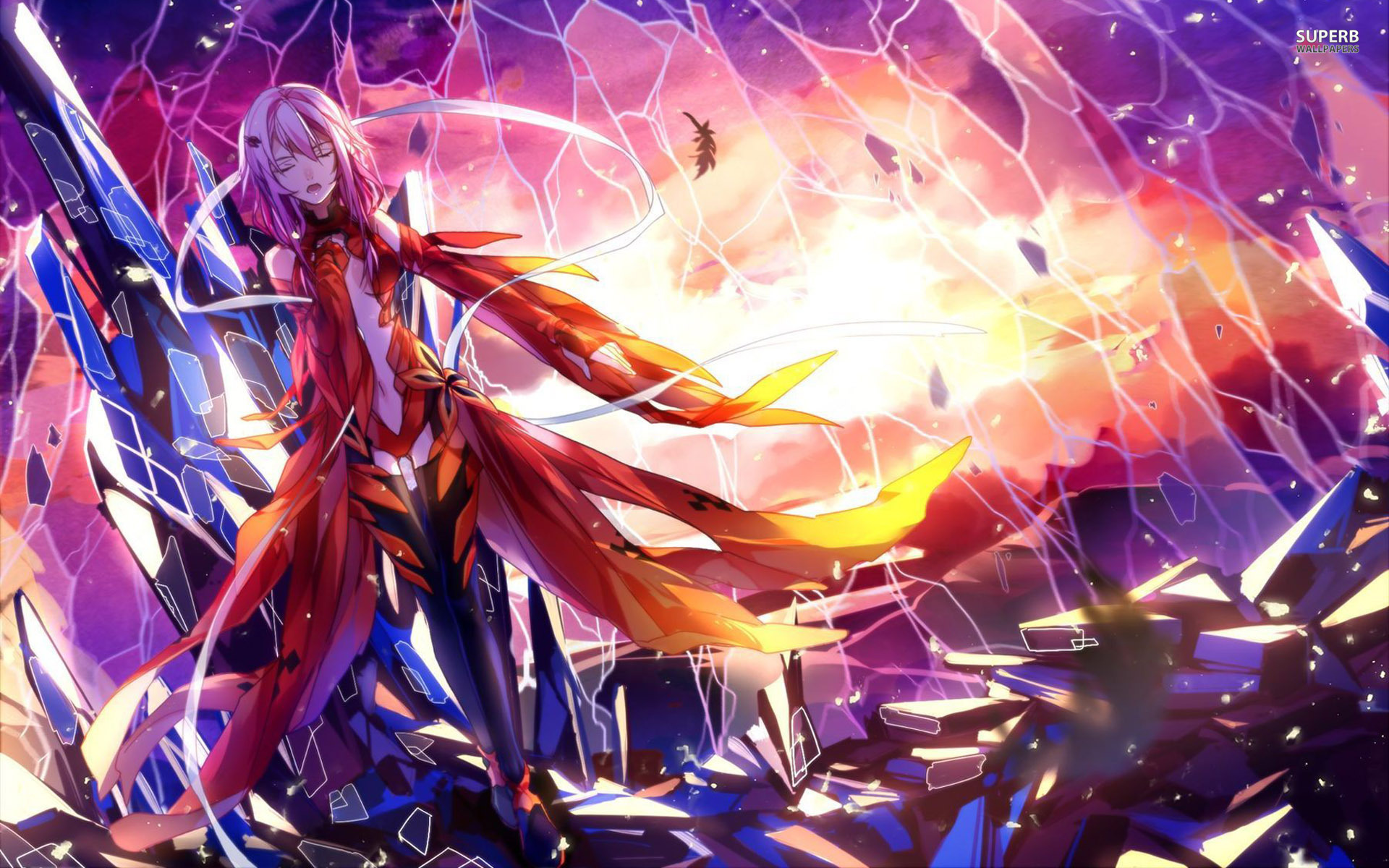 Inori Yuzuriha - Guilty Crown wallpaper 1920x1200