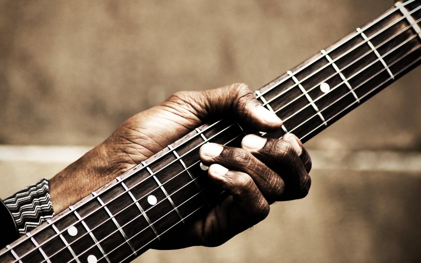 Guitar Hand Music HD Wallpaper