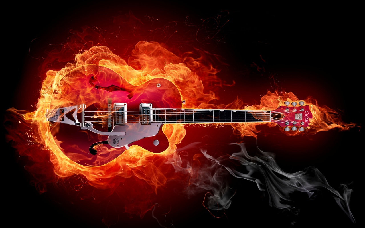 Hard Rock Music Guitar
