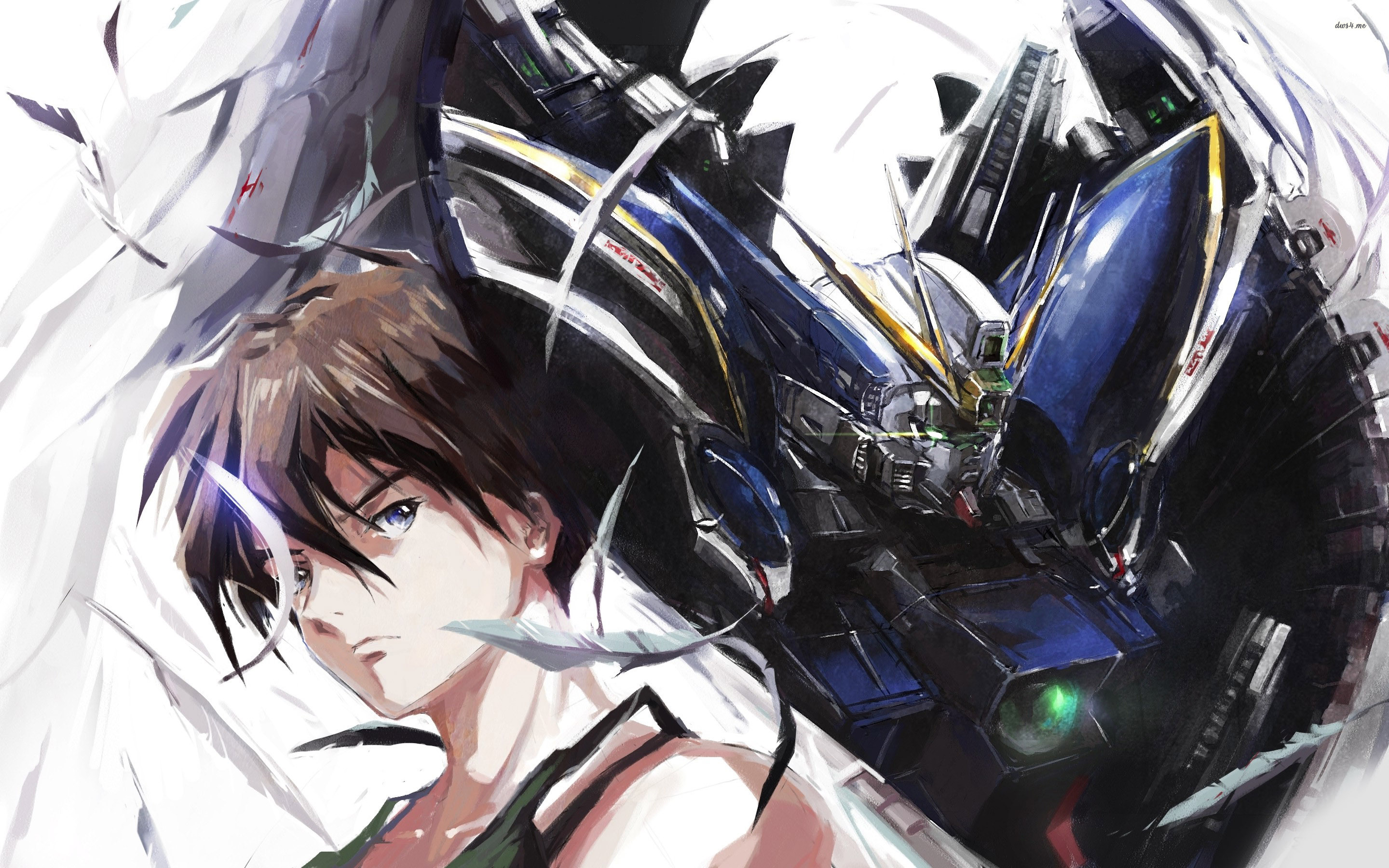 ... Moblie Suit Gundam Wing wallpaper 2880x1800 ...