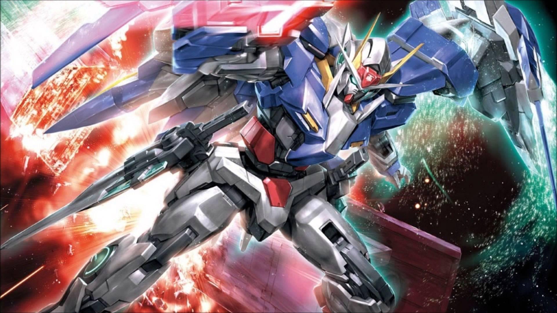 0-RAISER - Gundam 00 OST 4 - 19 (High Quality 1080p HD)