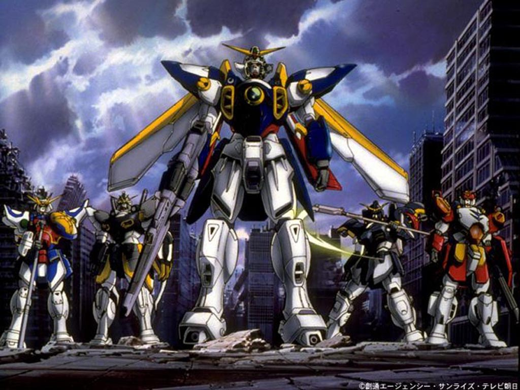 4 Fav Mobile Suit Gundam Wing