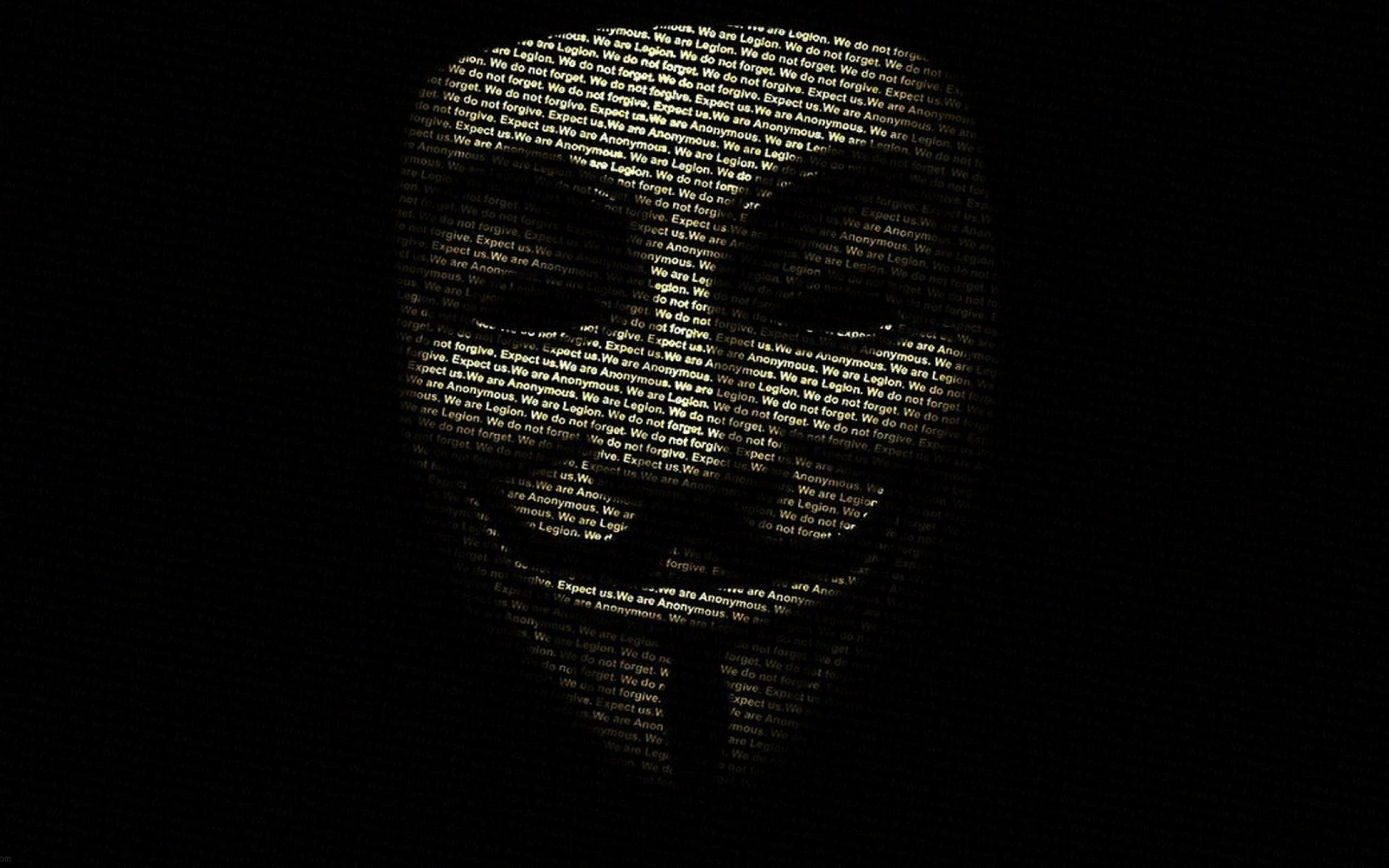 Anonymous Wallpaper: Pin Anonymous Guy Fawkes Honda Civic Wallpaper On Pinterest 2560x1600px