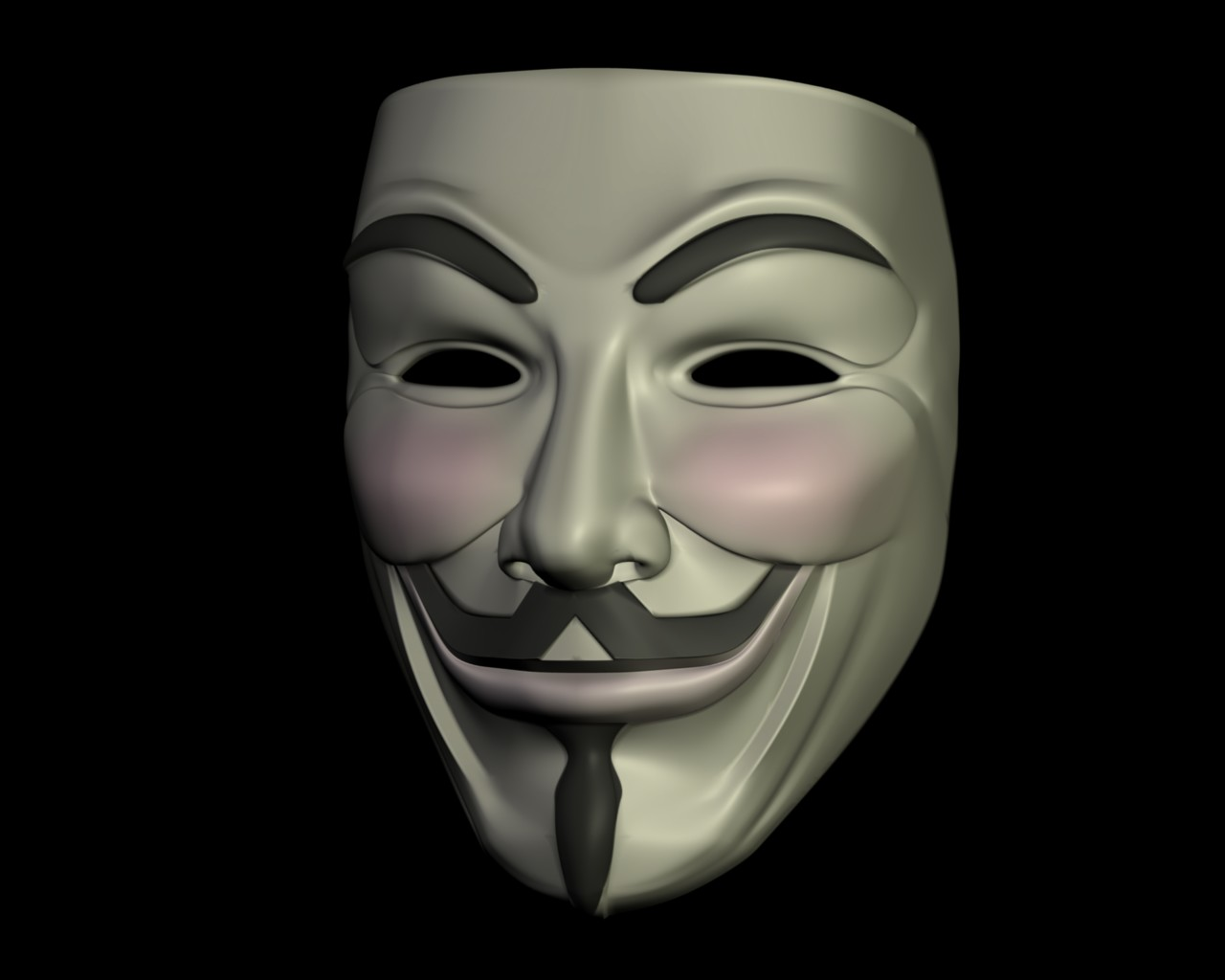 ... Guy Fawkes Mask Render 2 by jtm1997