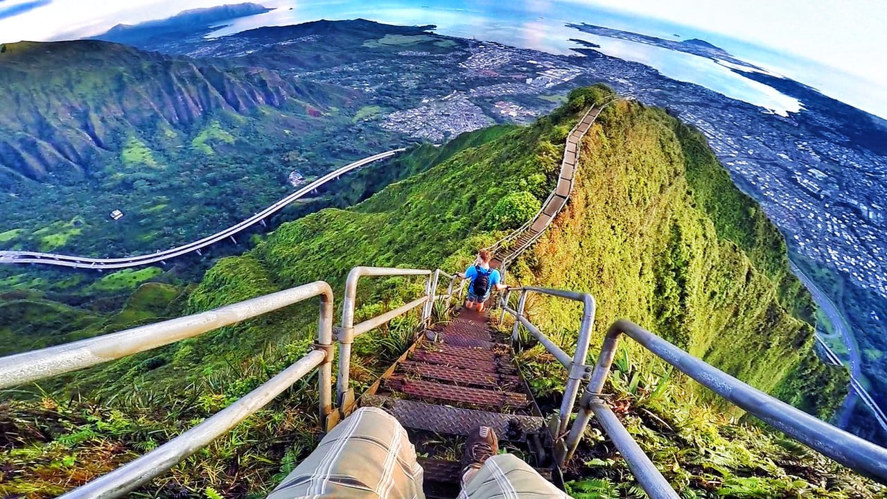 Stairway To Heaven, Hawaii (Haiku Stairs) - GoPro Hero 4