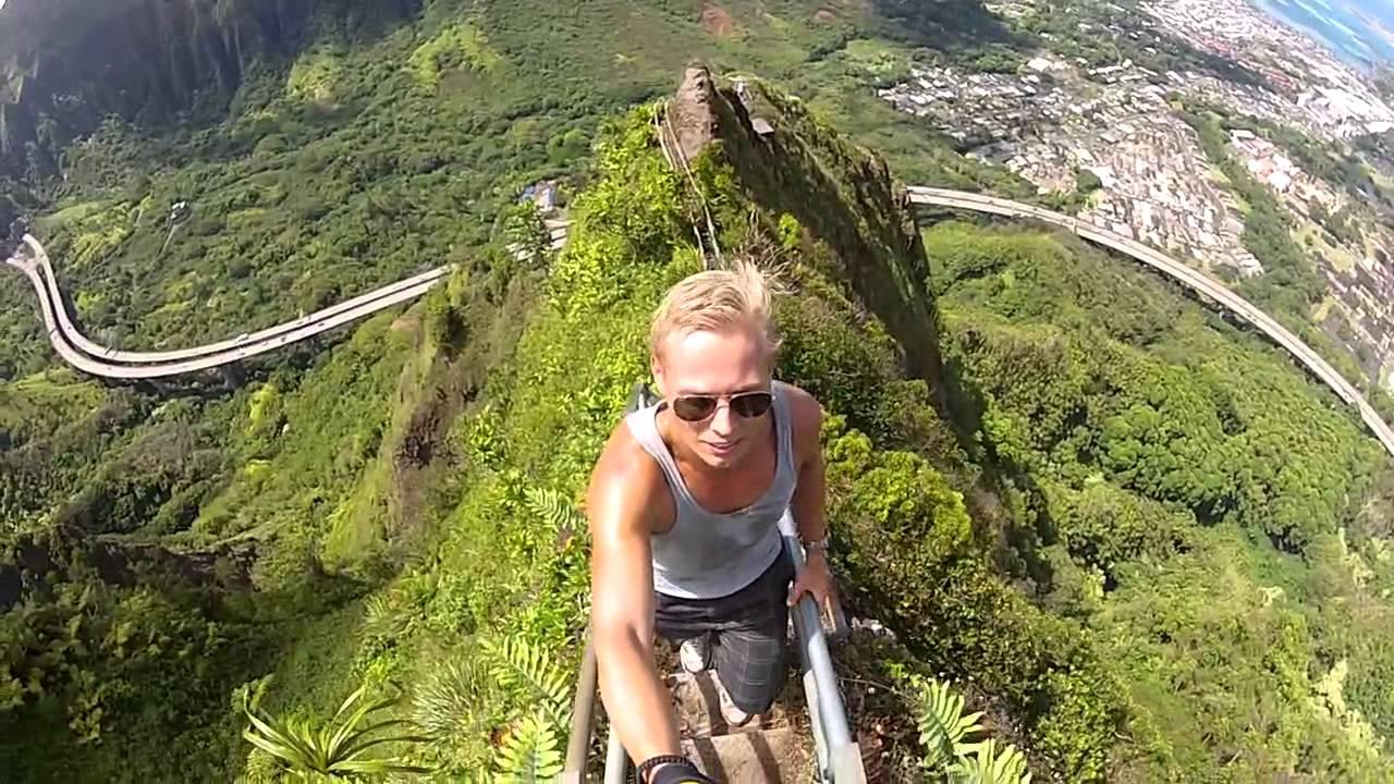 Stairway to Heaven (Haiku Stairs - Oahu) GoPro.mov