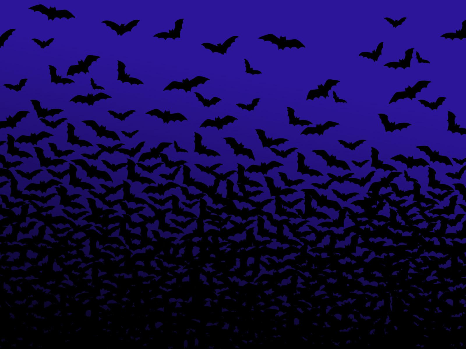 Halloween Bats Wallpaper