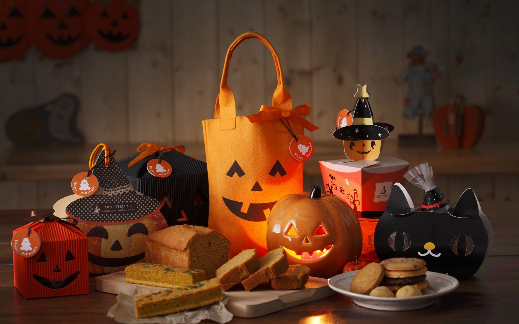 Halloween Holiday Pumpkin Food Gifts