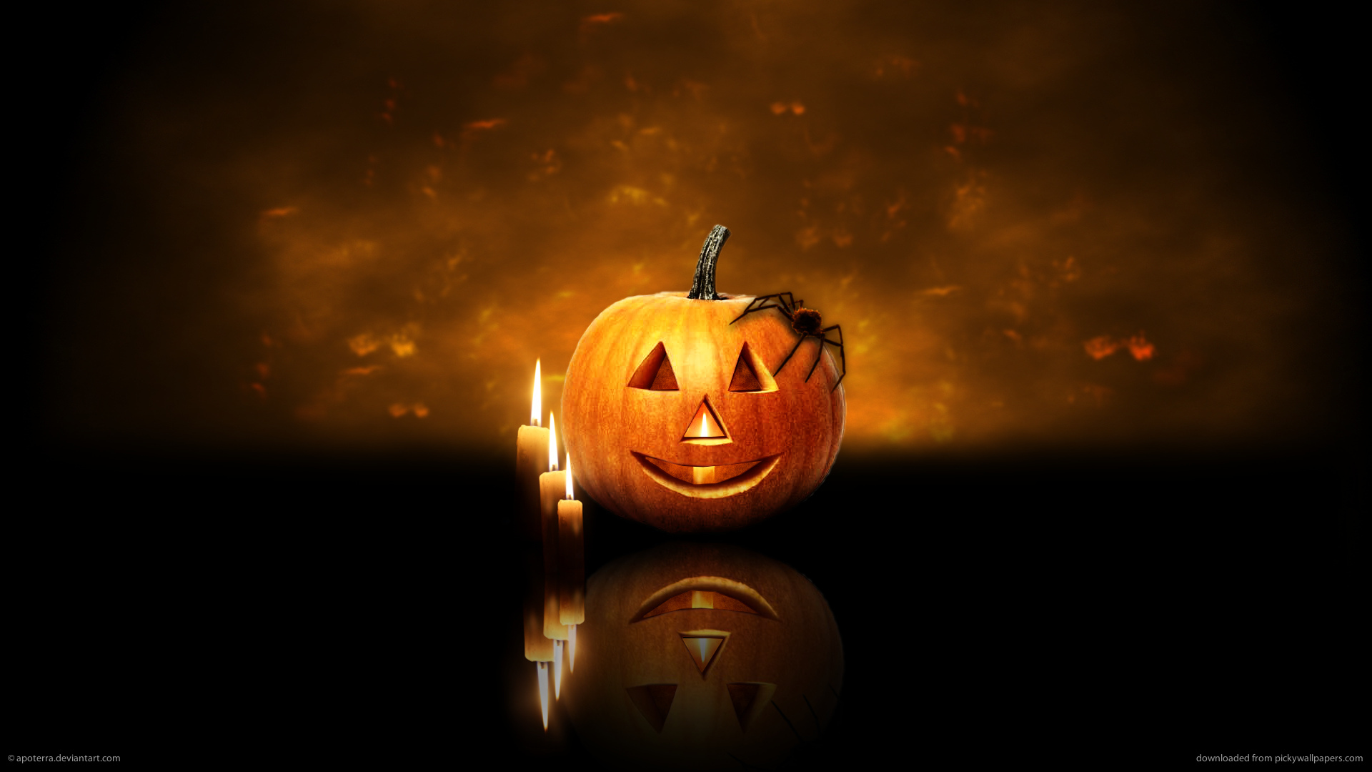 Download. Description wallpaper: Halloween Screensavers ...