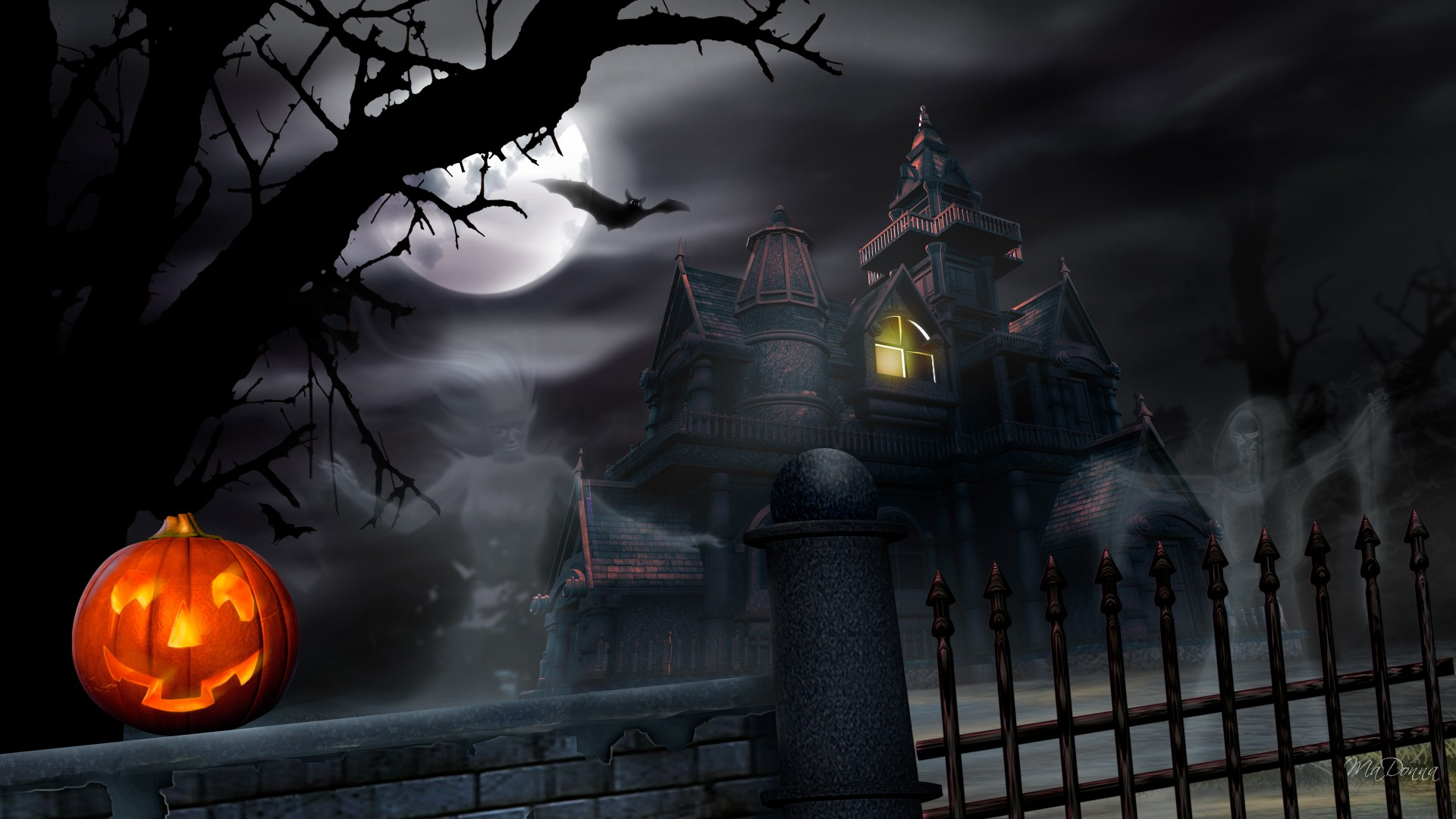 Free Halloween Wallpaper Desktop Hd Xpx
