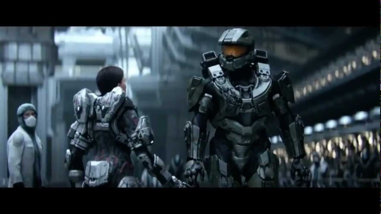 Halo 4 Story (Game Movie) HD