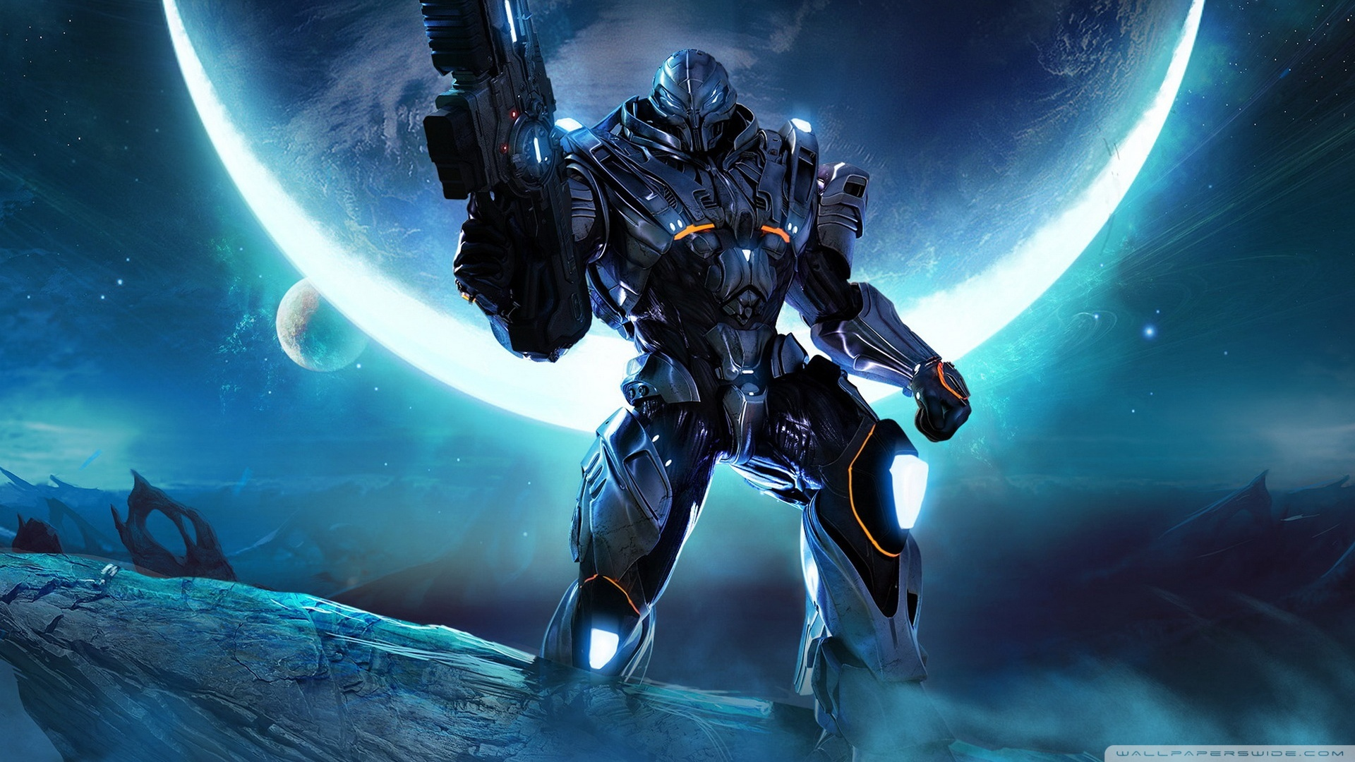 Halo Reach HD Wide Wallpaper for Widescreen