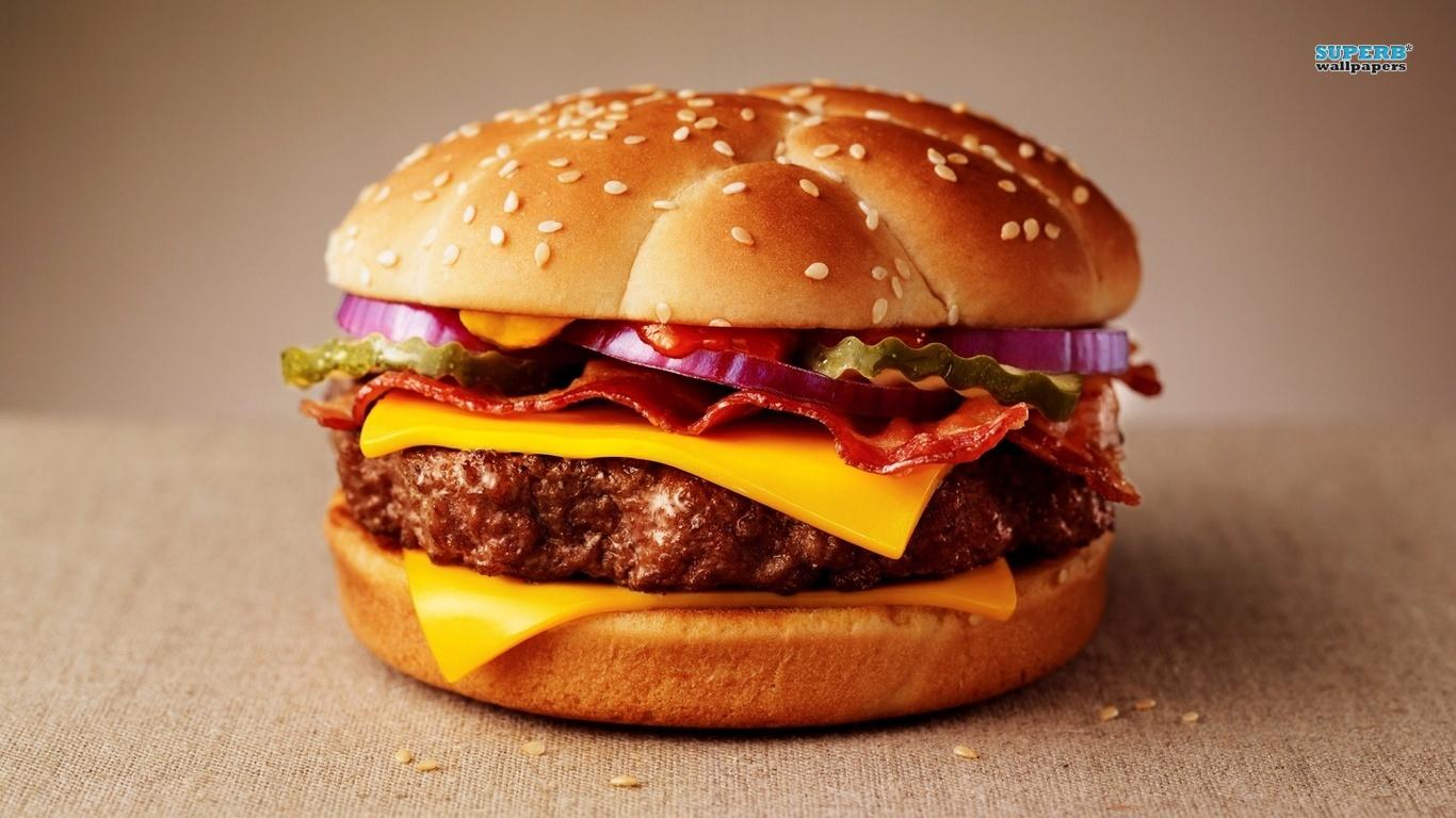 Hamburger wallpaper 1366x768