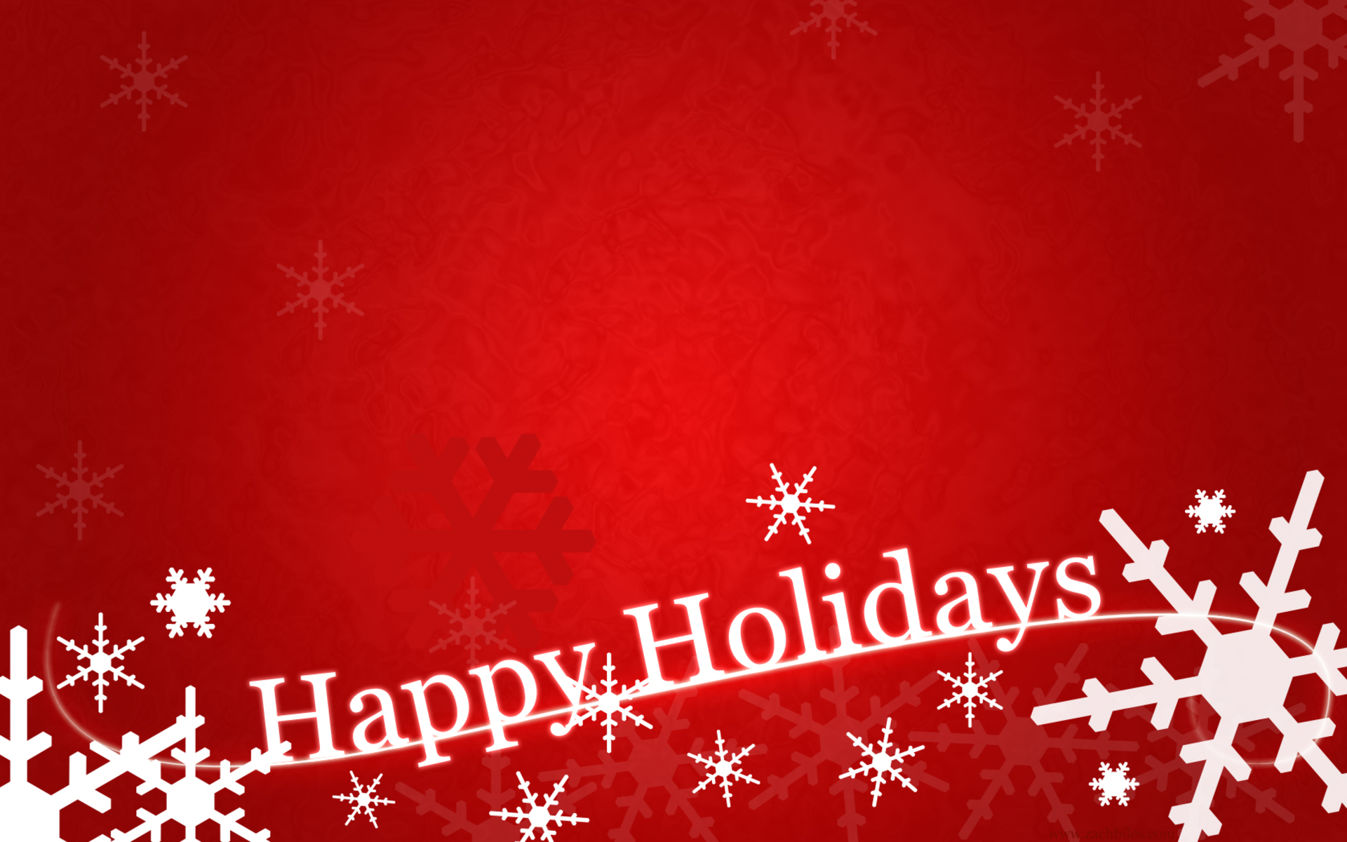 Happy Holidays Background