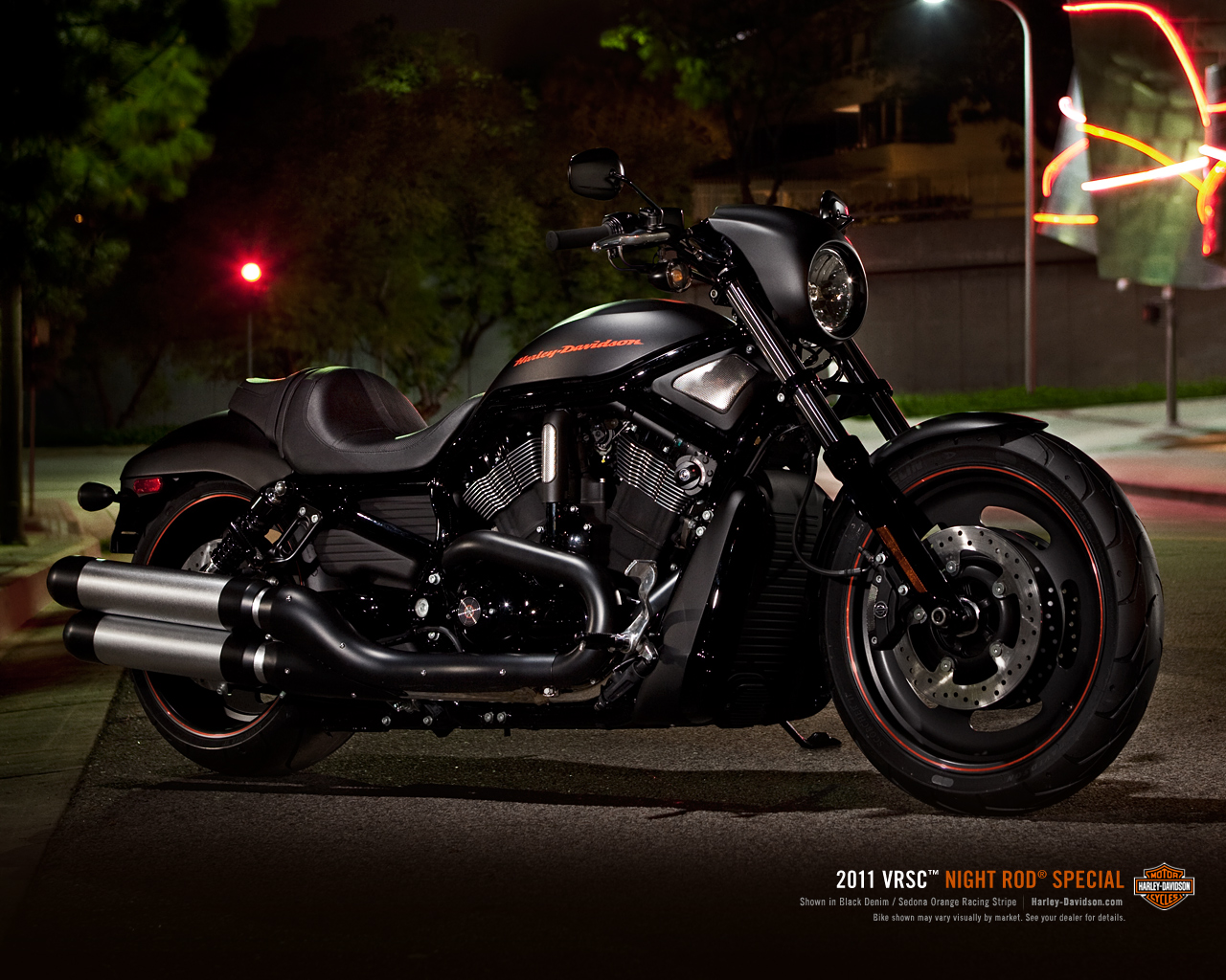 Harley Davidson Night Rod Wallpaper 1280x1024 15659