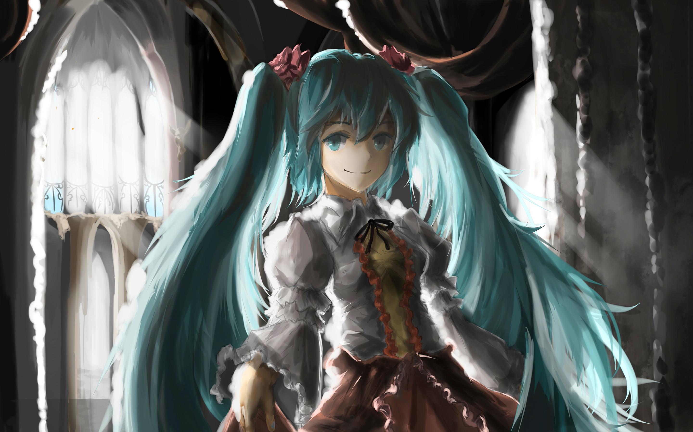 Hatsune miku painting