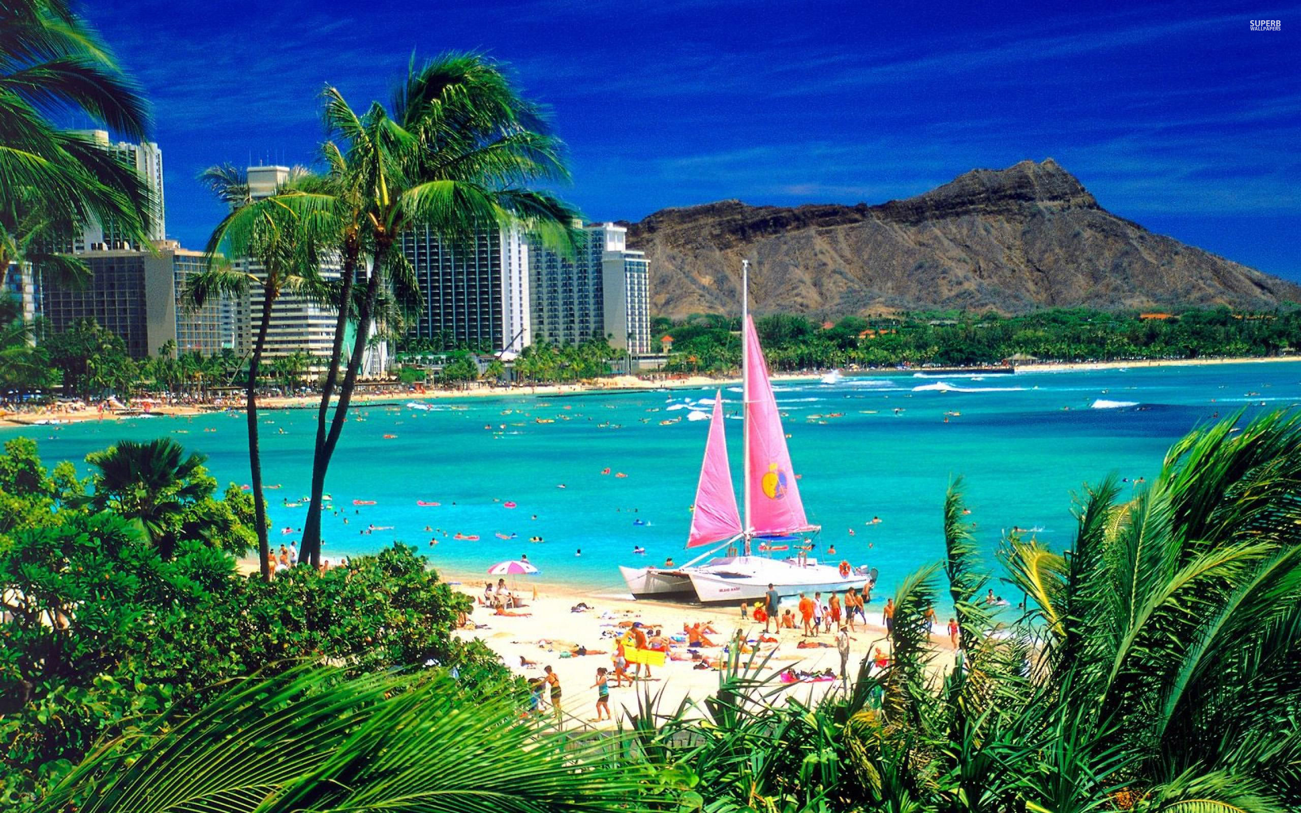 hawaii-beach-wallpaper hawaii-wallpaper-beach ...