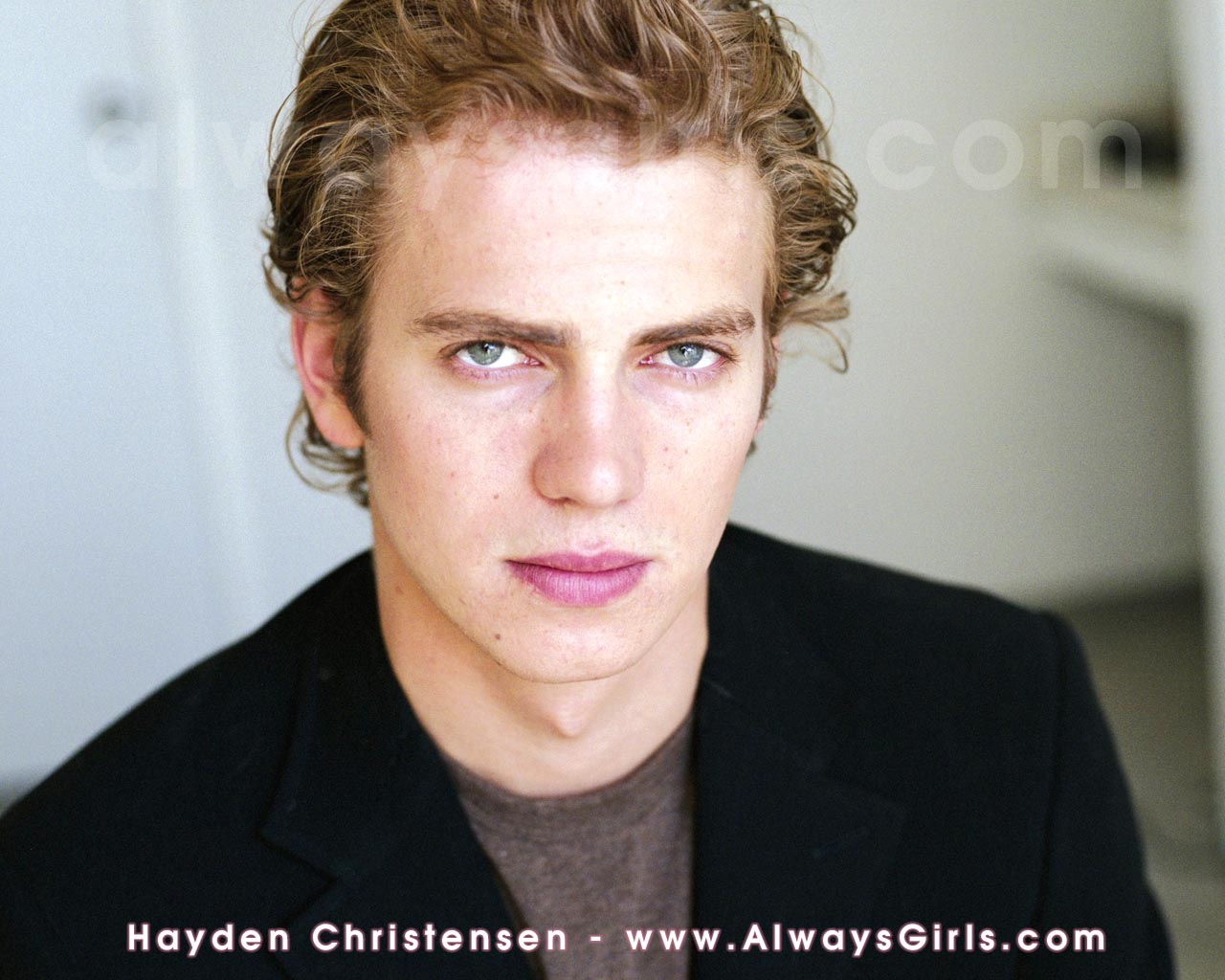 "Hayden Christensen Wallpaper - Right click your mouse and choose ""Set As Background"" to"