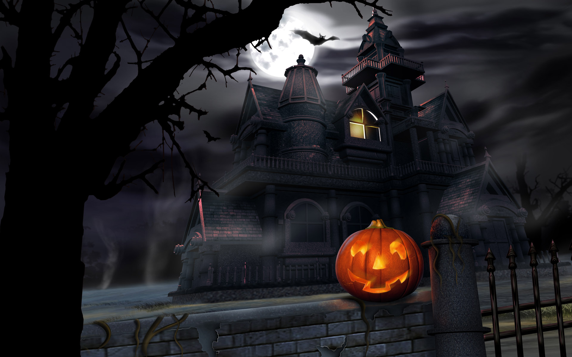 HD Halloween Screensavers