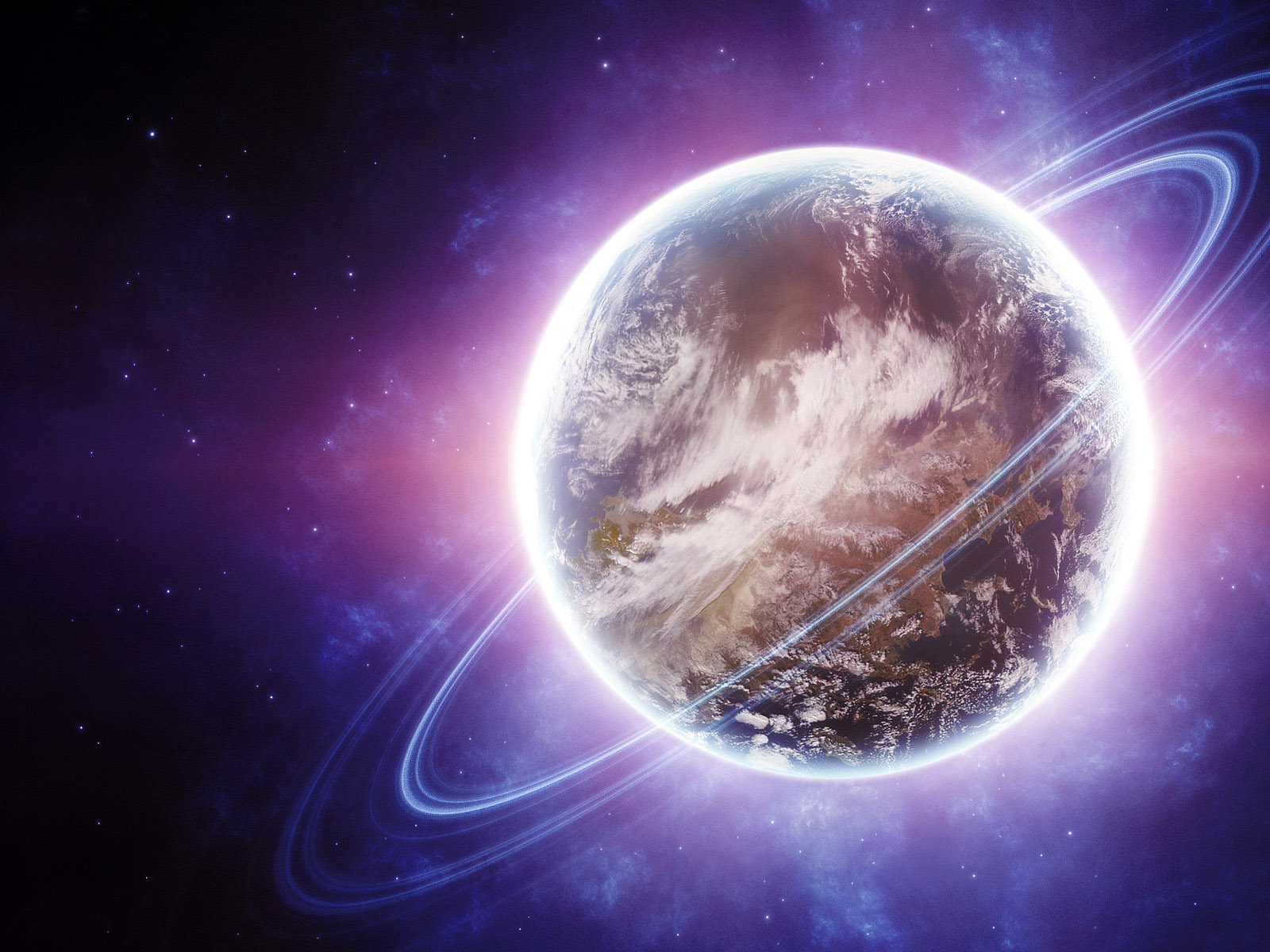 HD Planet Wallpaper