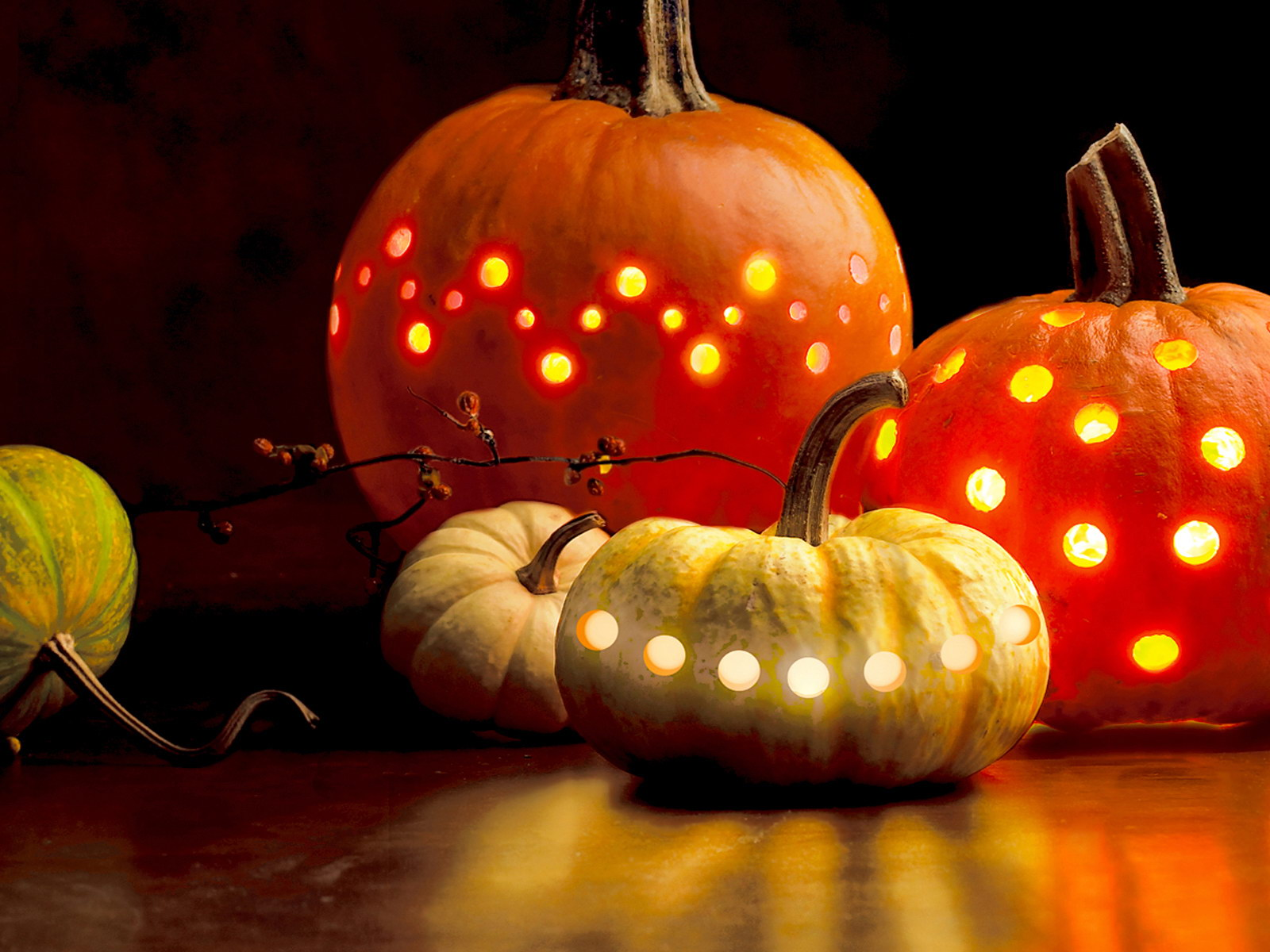 HD Pumpkin Wallpaper