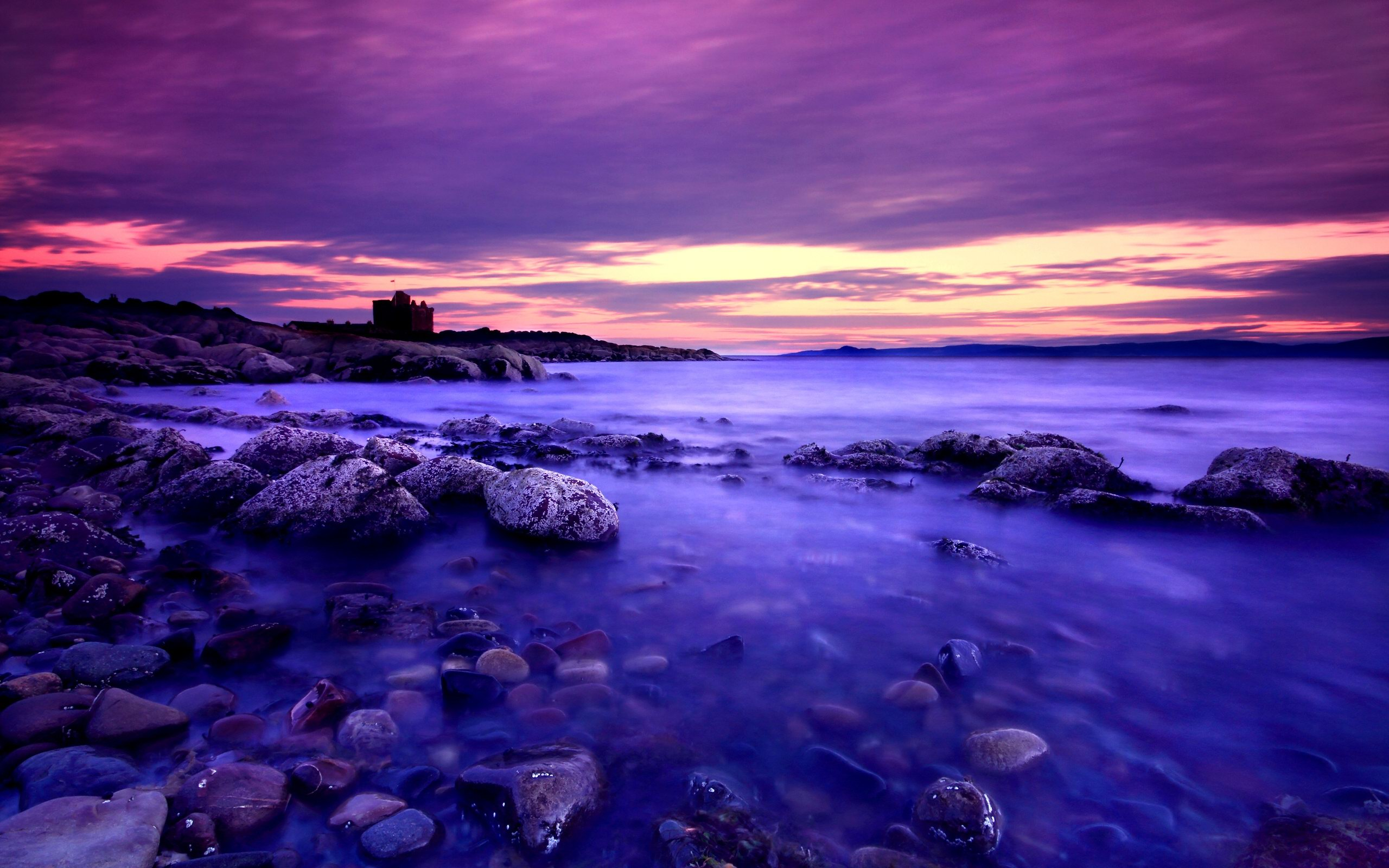 HD Purple Sunset Pictures